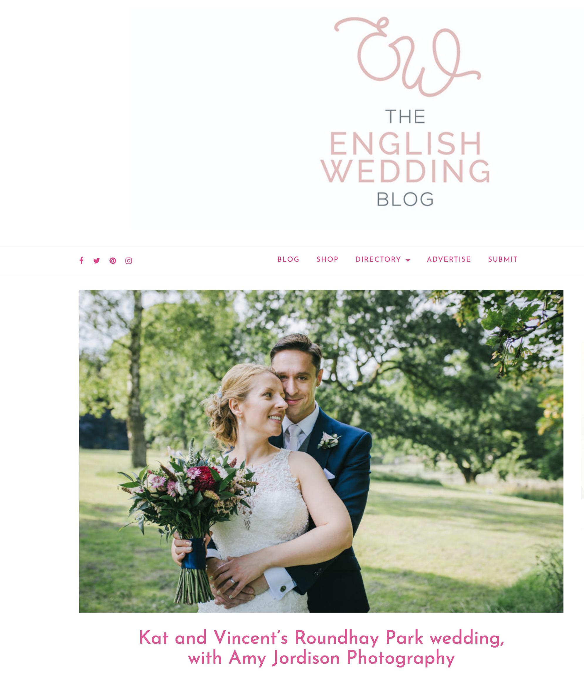 Kathryn and Vincent's Leeds Park Wedding -