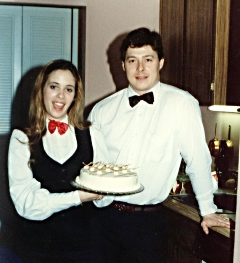 Meryl & Andy Snow 1st Event! 1987