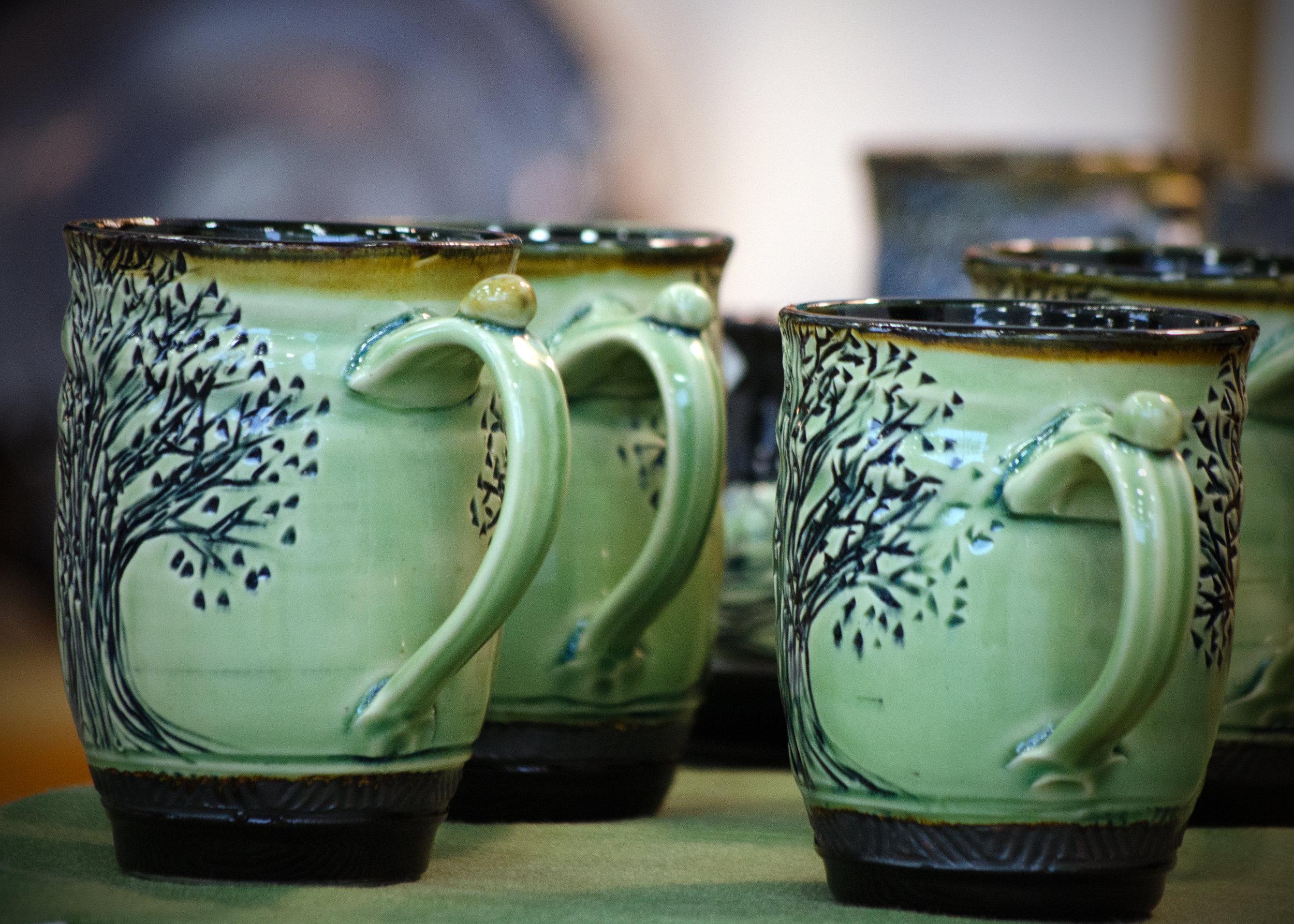 Mugs by becky garrity