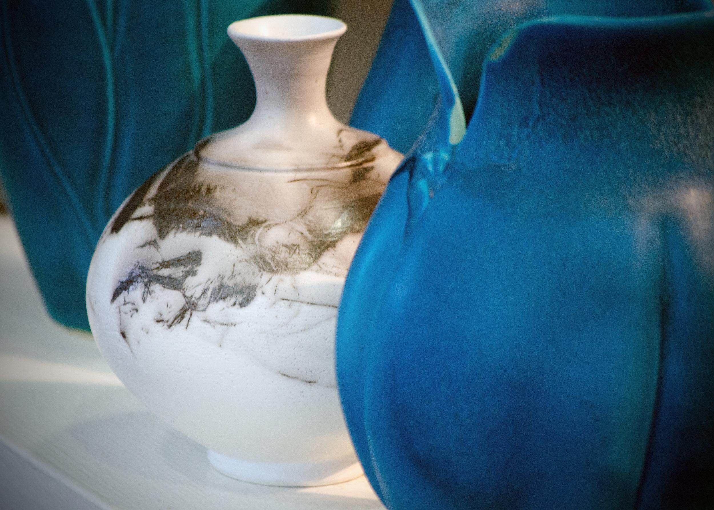 Vases by Nancy Ross