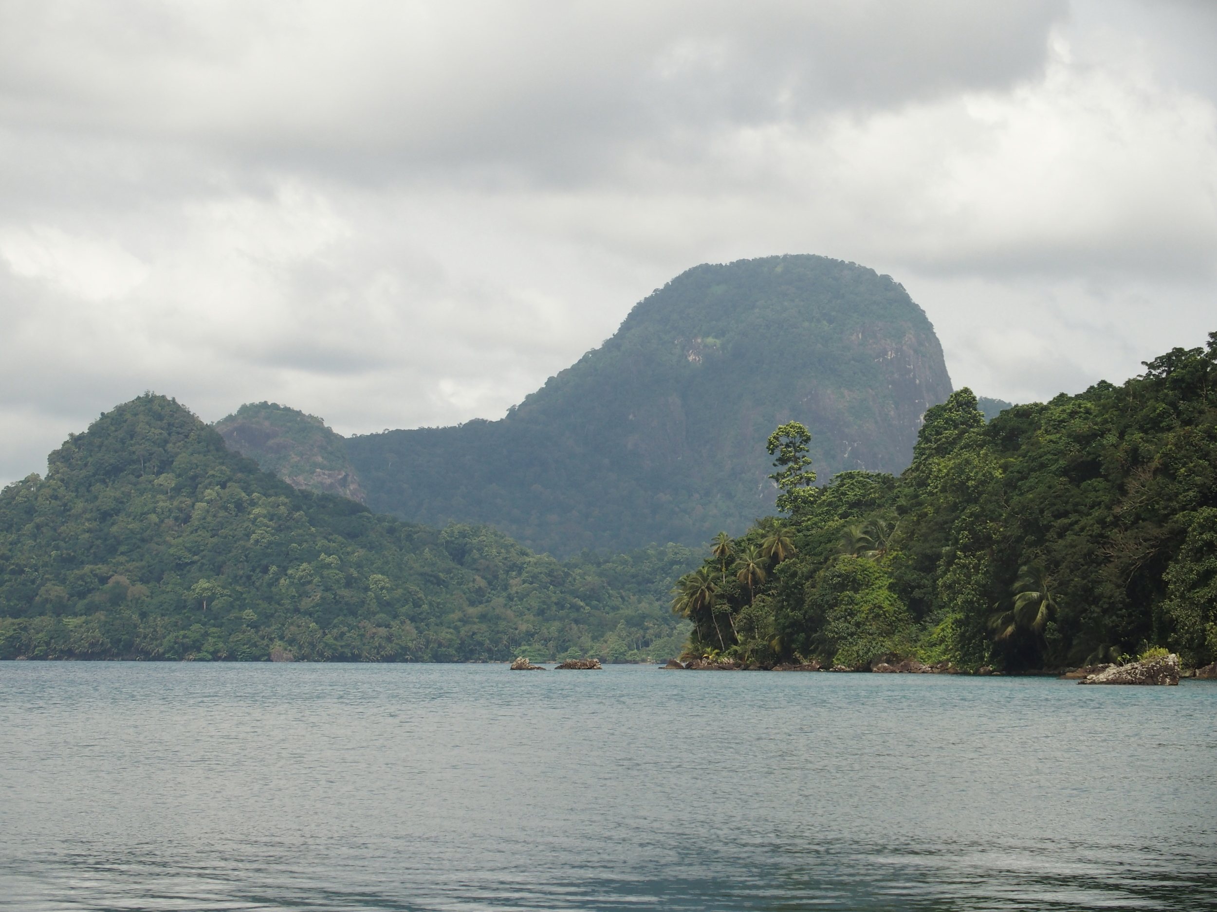 Coastal and nearshore waters of the Island of Príncipe in São Tomé and Príncipe. Photo: Kristian Metcalfe