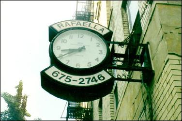 bleecker street clock