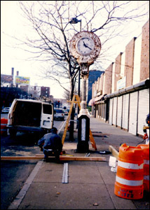 Bicknell Clock, Lawrence, MA