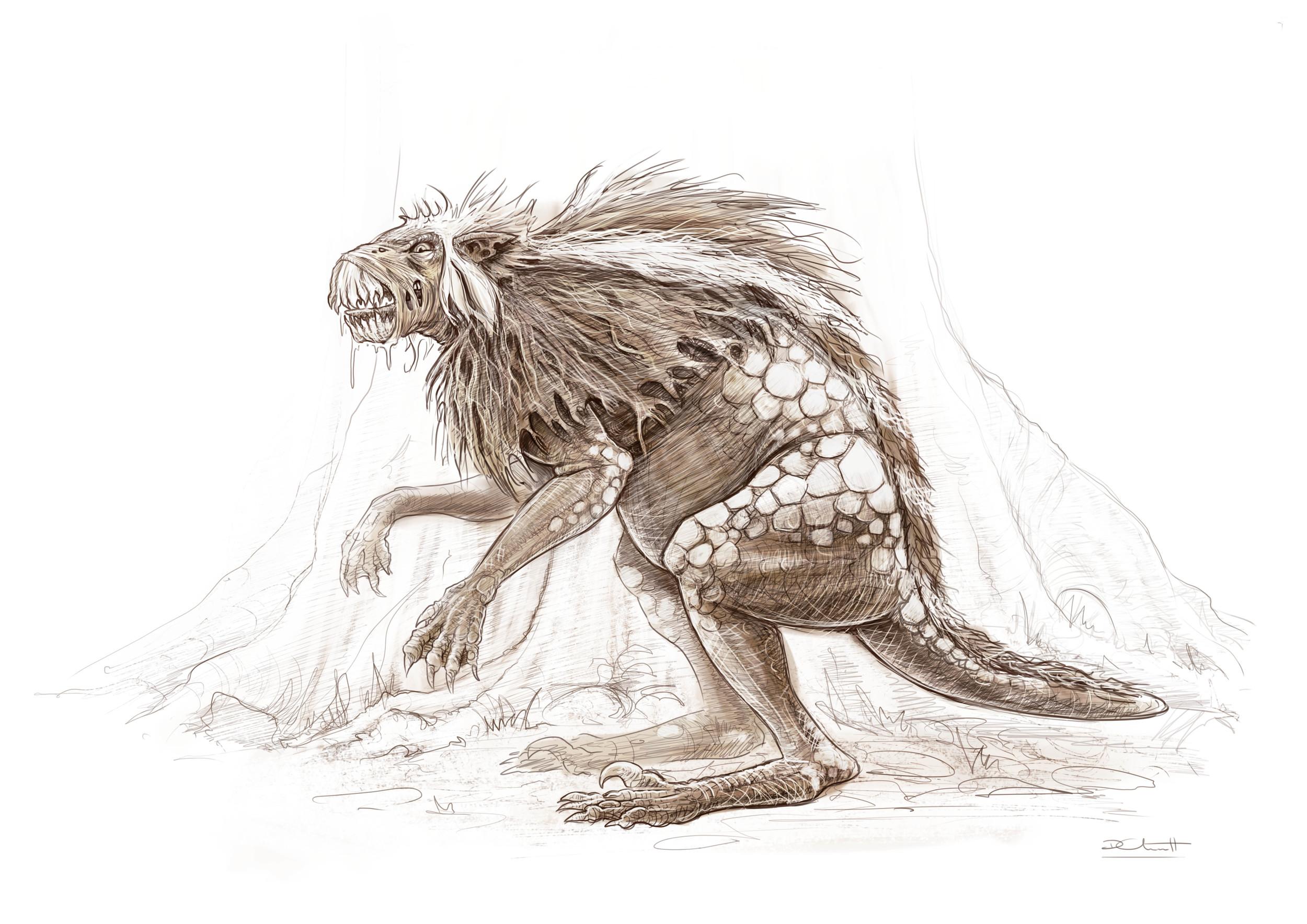 Perfect Monster Concept for Robot Dinosaur