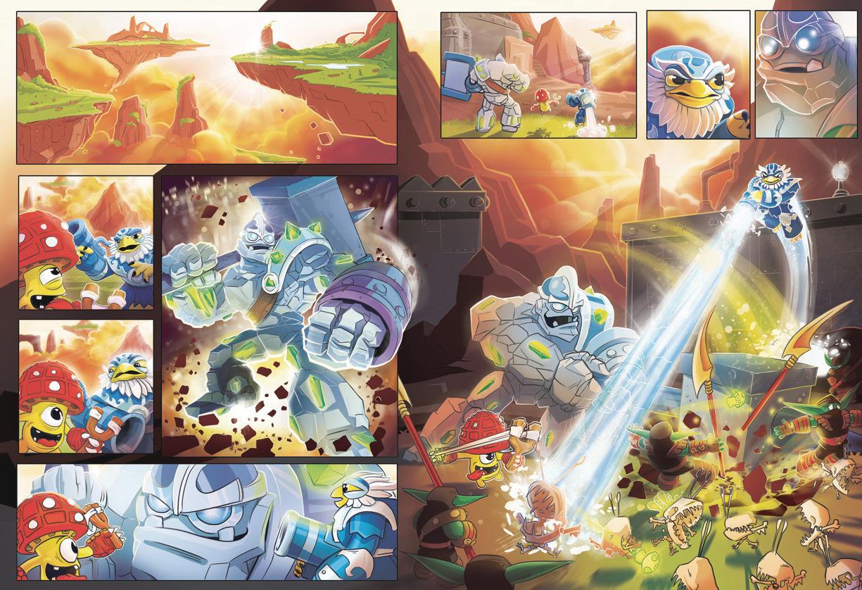 Skylanders Comic Strip - Published by Dynamo
