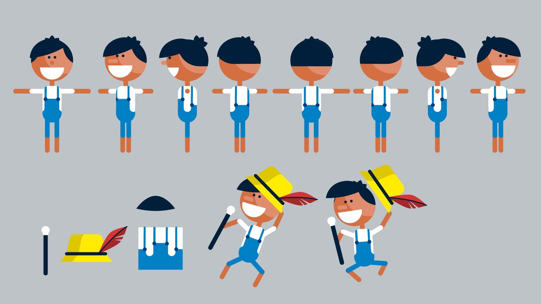 Pinochio Character Sheet for Upskill People