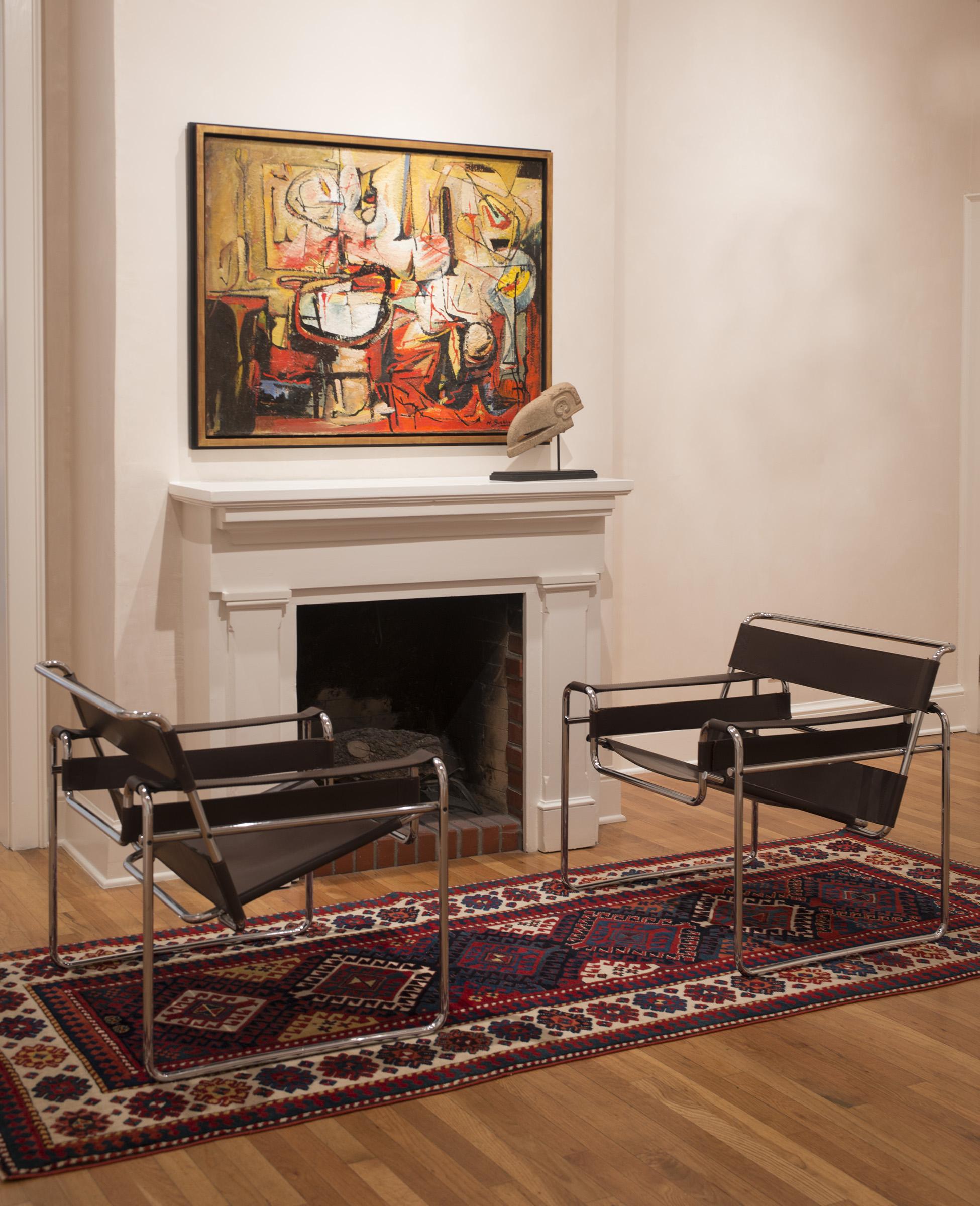 Untitled 1953 in situ at Peyton Wright Gallery, Santa Fe, NM