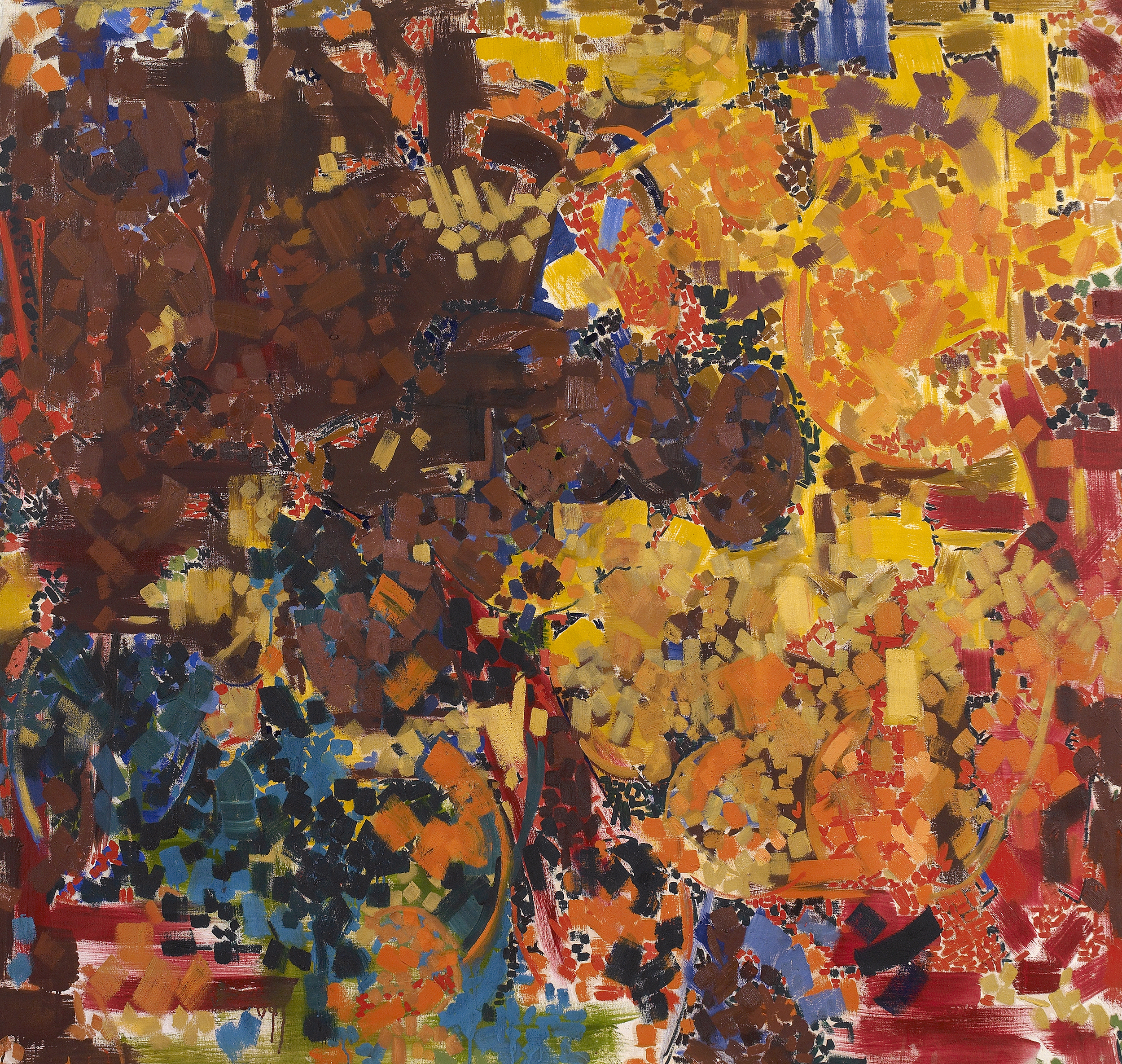 SOLD  Machipongo, 1959 - 60  , oil on canvas, 58 x 61 inches