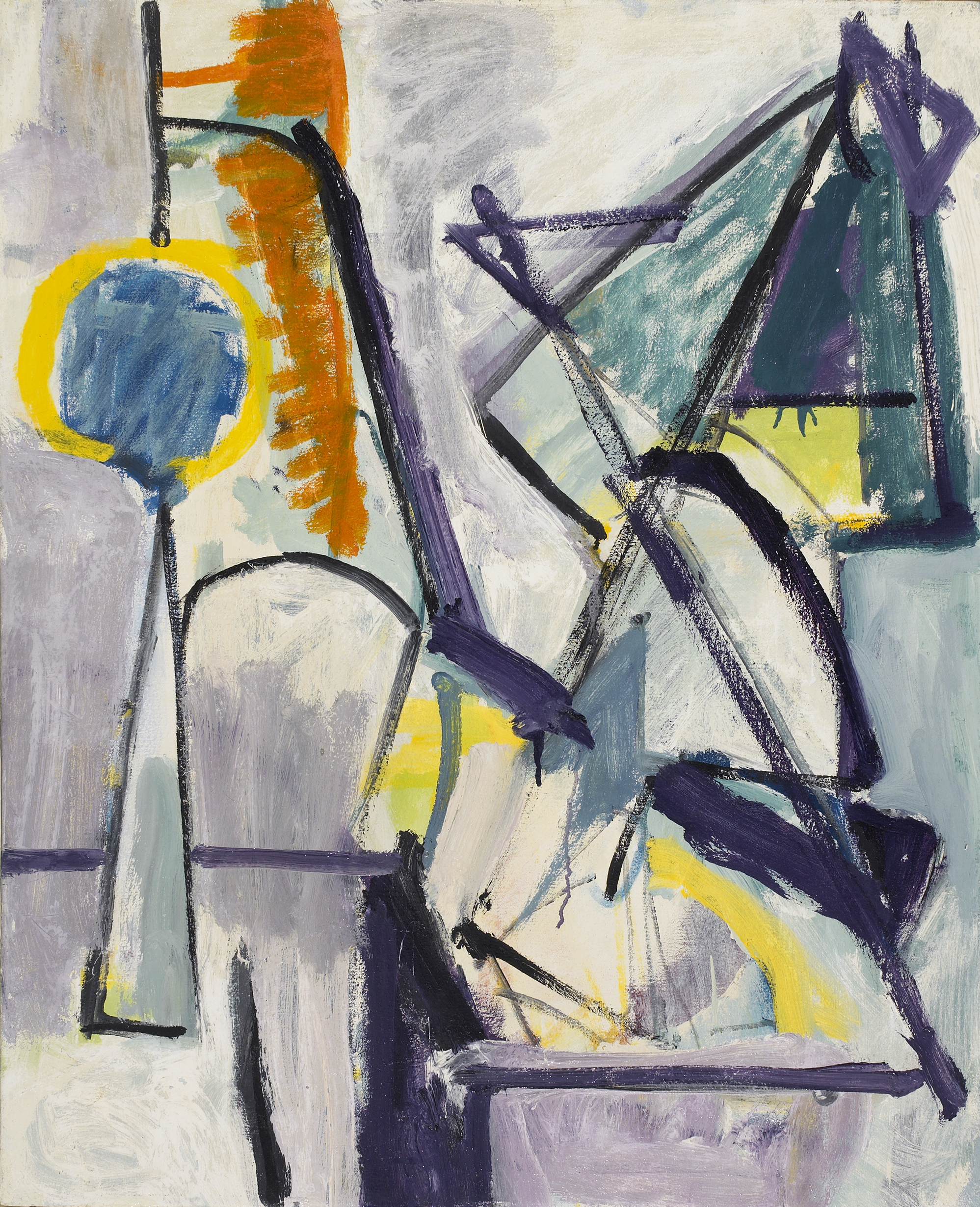 SOLD  Still Life, 1948  , oil on canvas, 30 x 24 inches