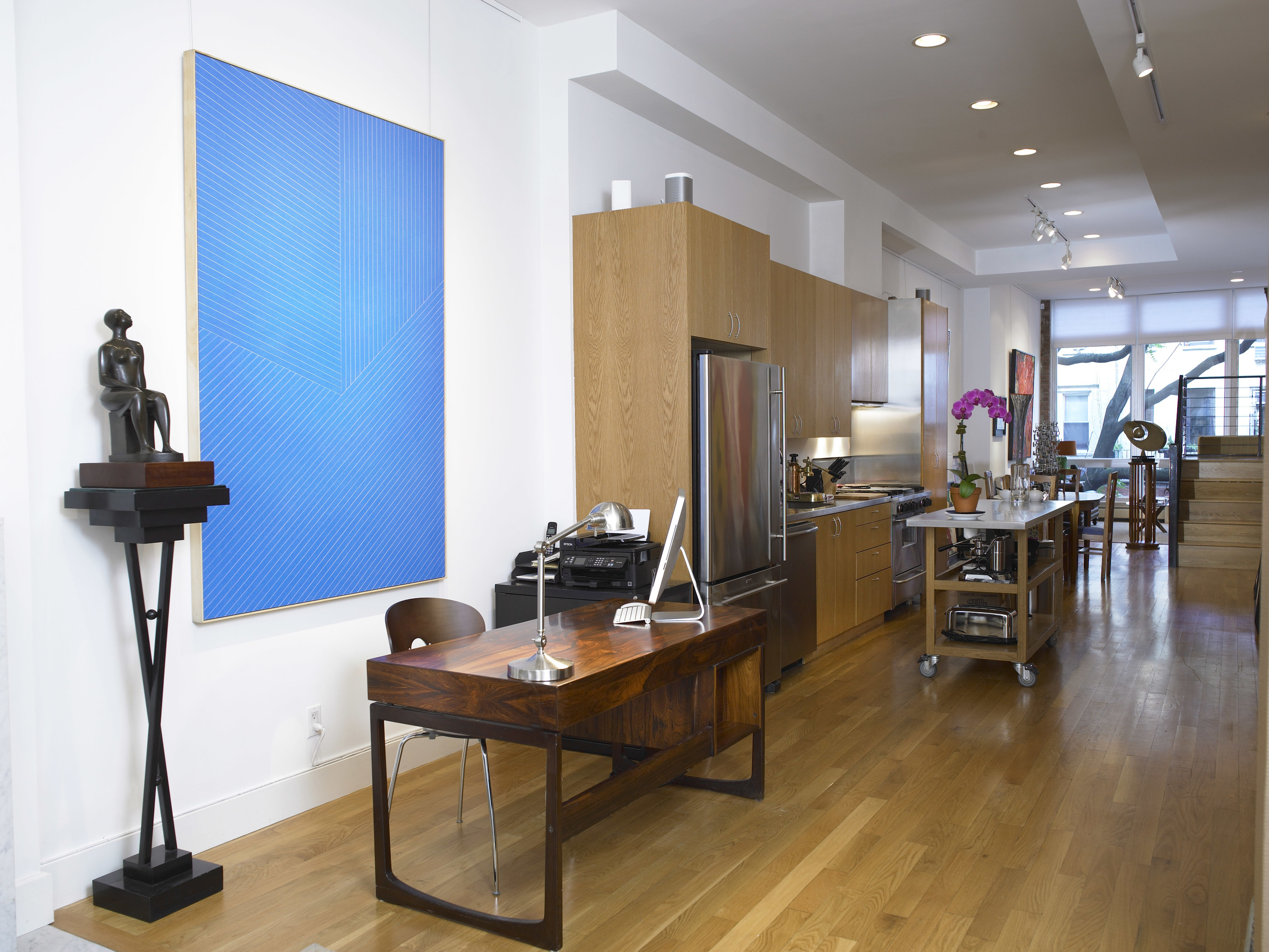 Decisions Decisions  installed at Vallarino Fine Art, New York