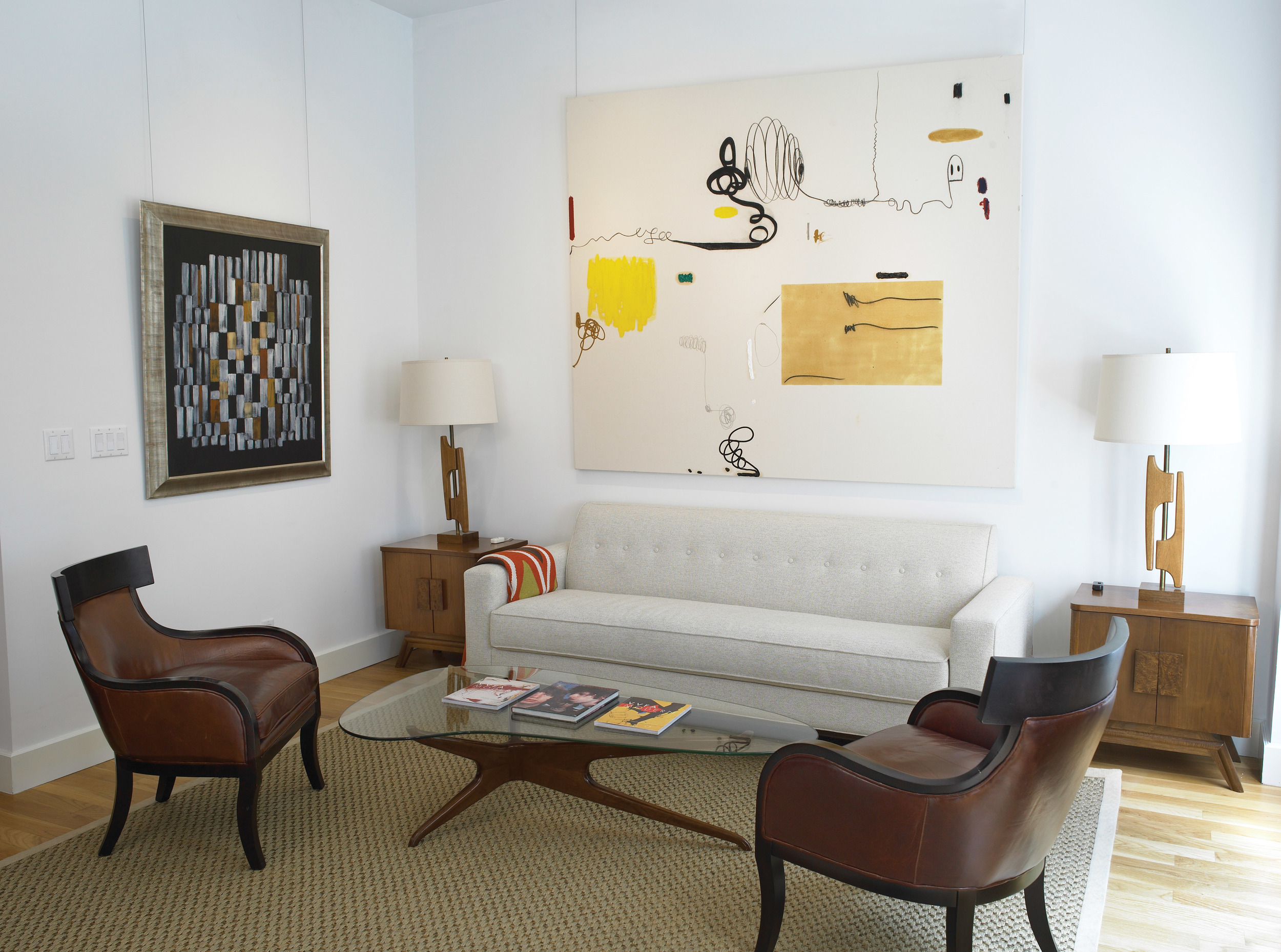 Untitled, 2014  in situ at Vallarino Fine Art, New York