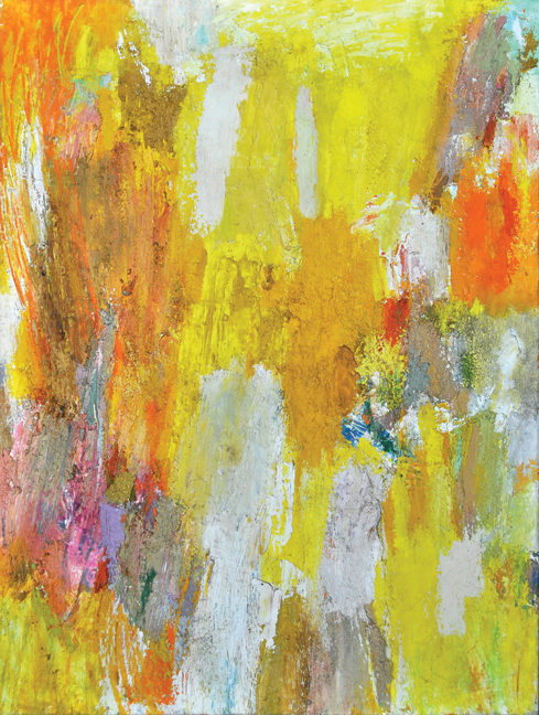 Untitled, c. 1950s  , oil on canvas, 48 x 36 inches