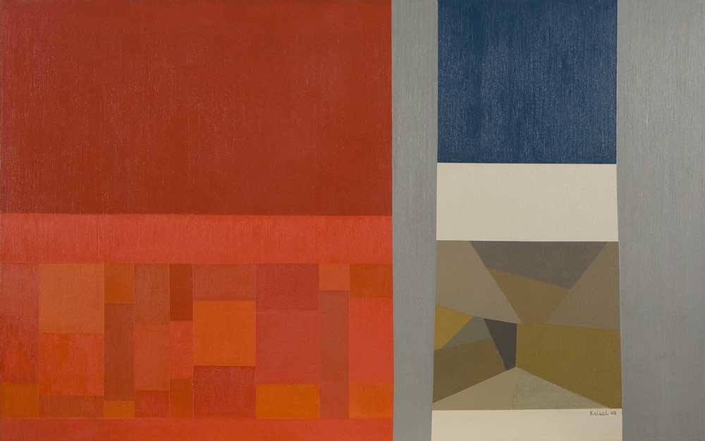 Untitled, 1968 , oil on canvas, 30 x 48 inches