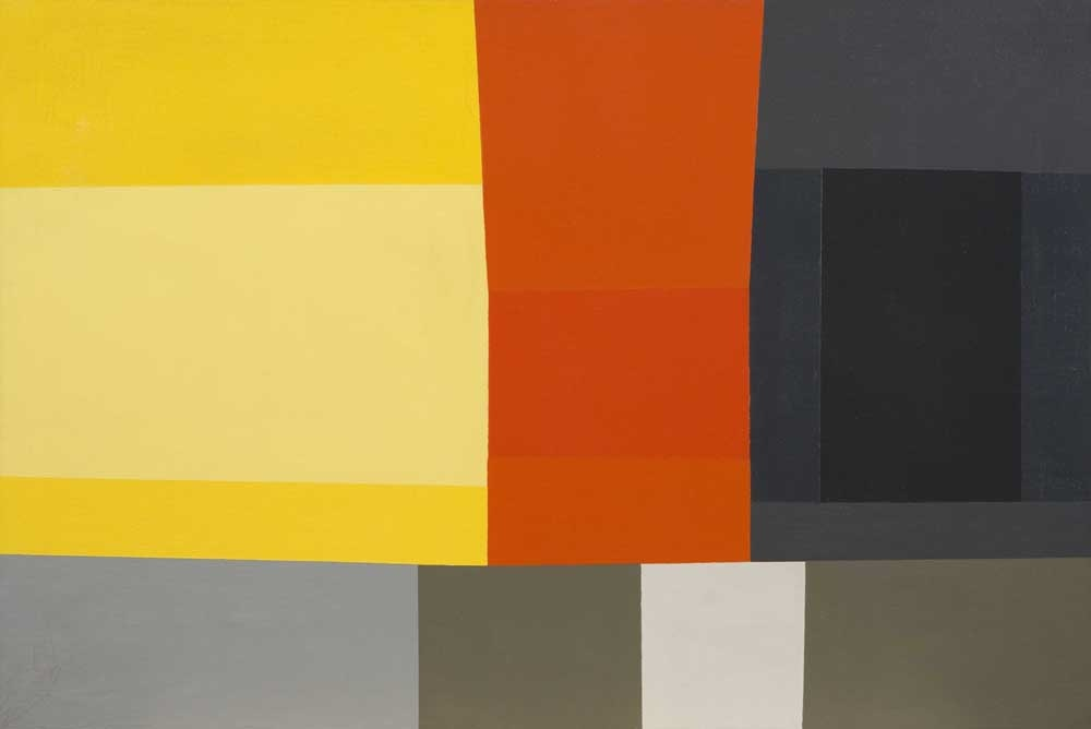 Untitled, 1960 , oil on canvas, 28 x 42 inches