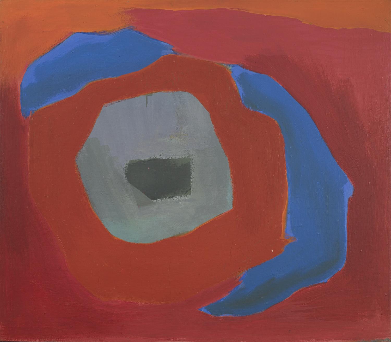 Esteban Vicente,  Untitled (Bridgehampton) , 1967, oil on canvas, 28 x 32 inches