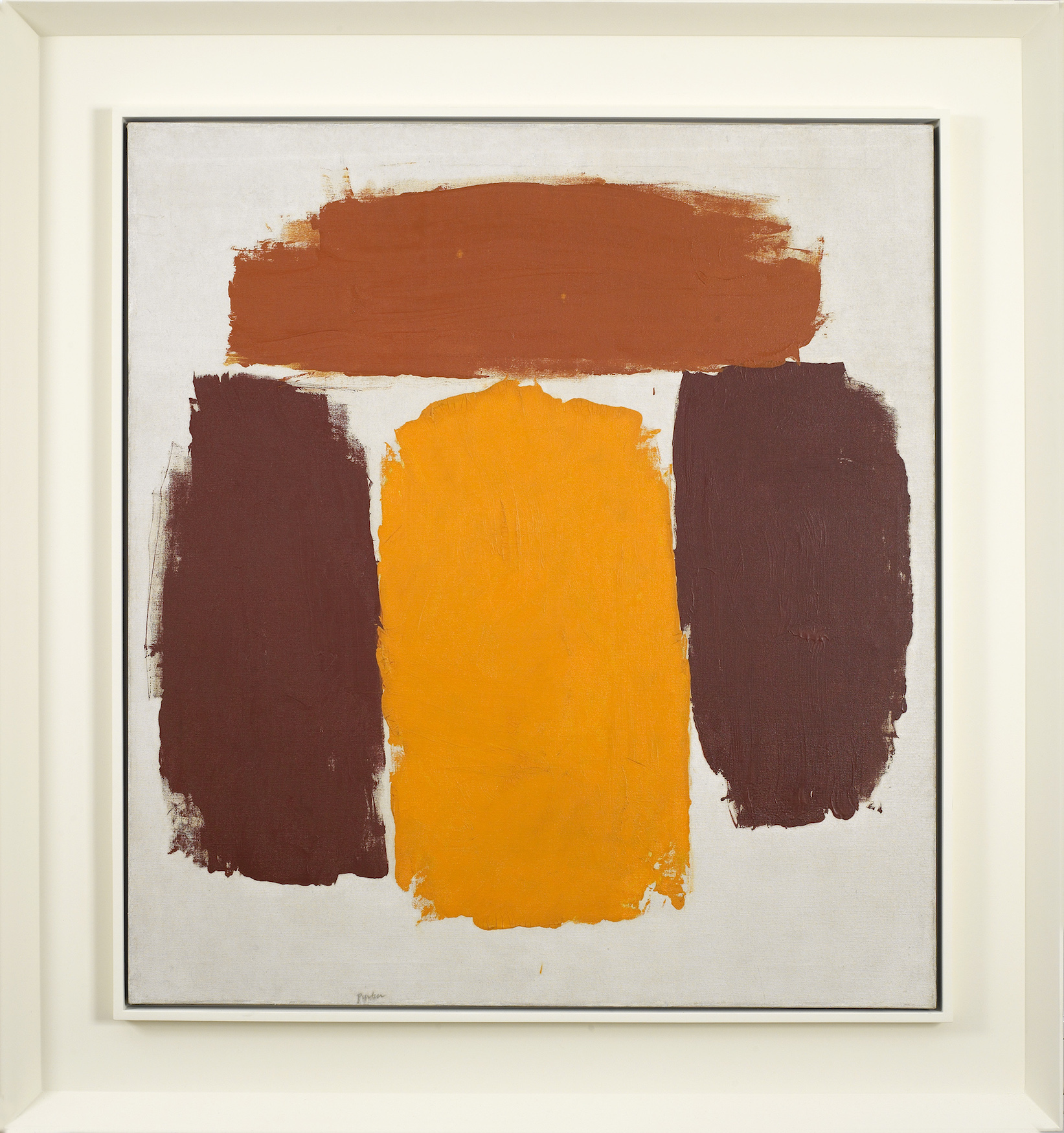 Ray Parker,  Untitled , 1963, oil on canvas, 34 x 31 inches