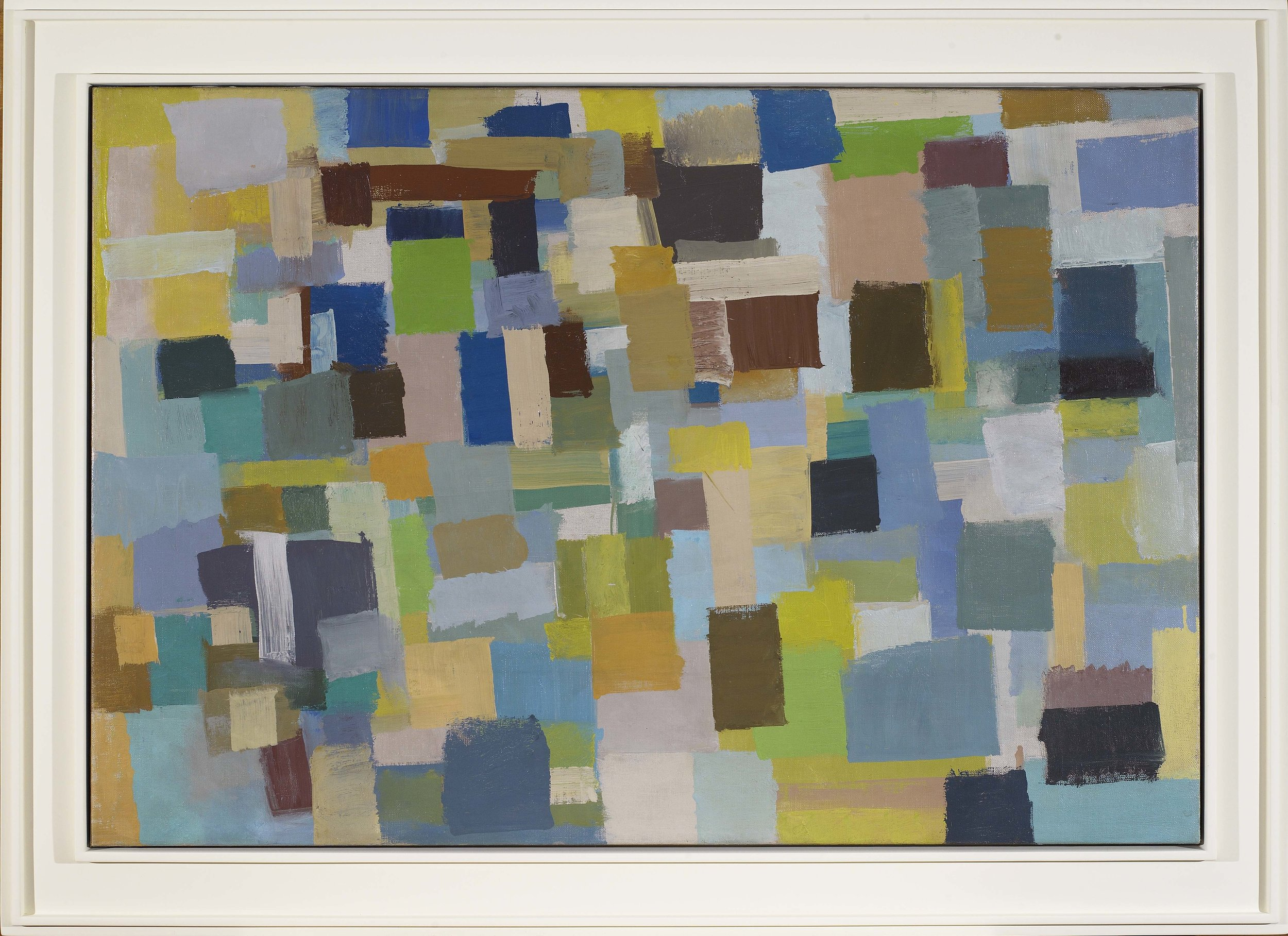 Untitled, 1953 , oil on canvas, 28 x 41 inches
