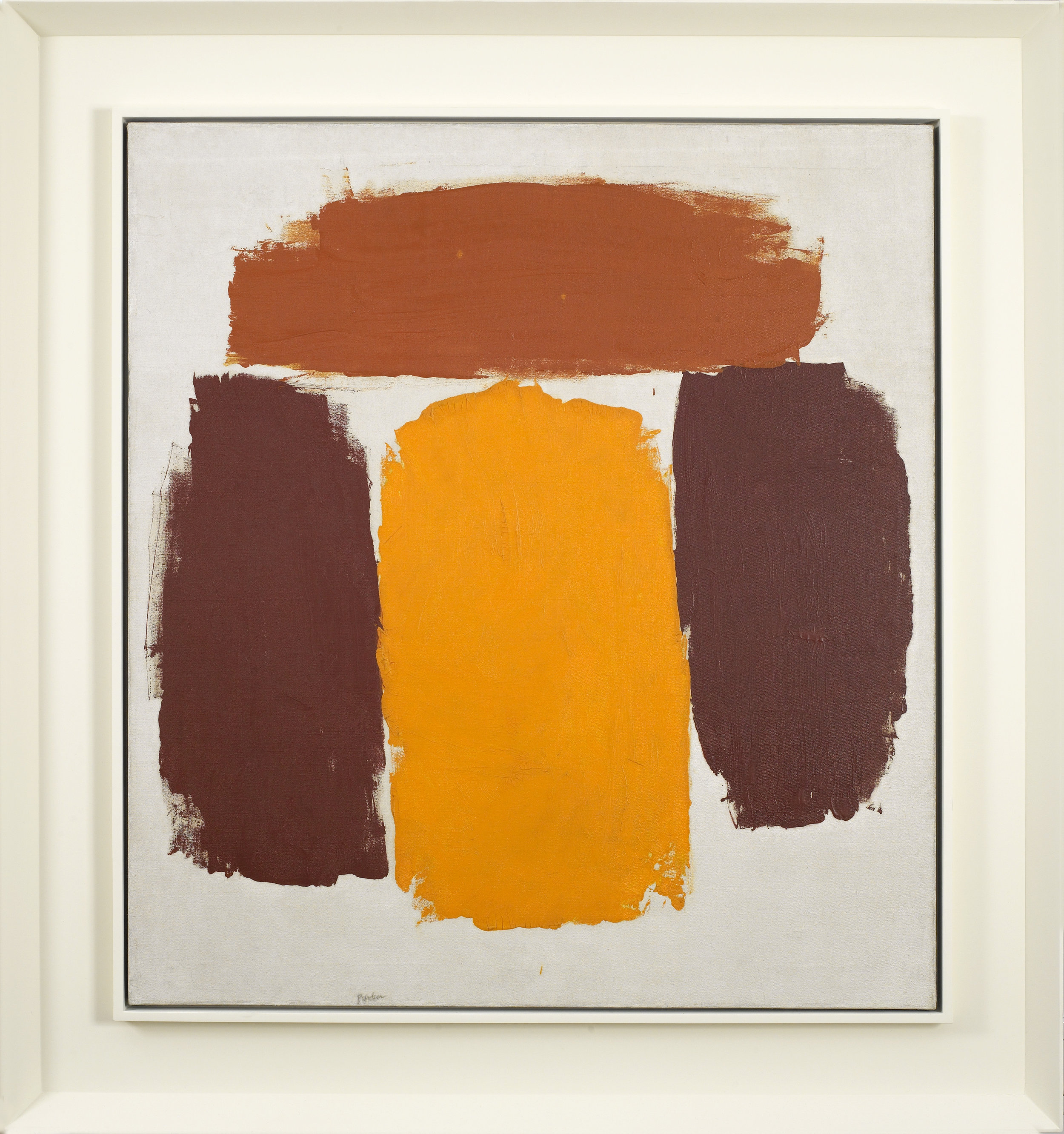 Untitled, 1963 , Oil on canvas, 34 x 31 inches