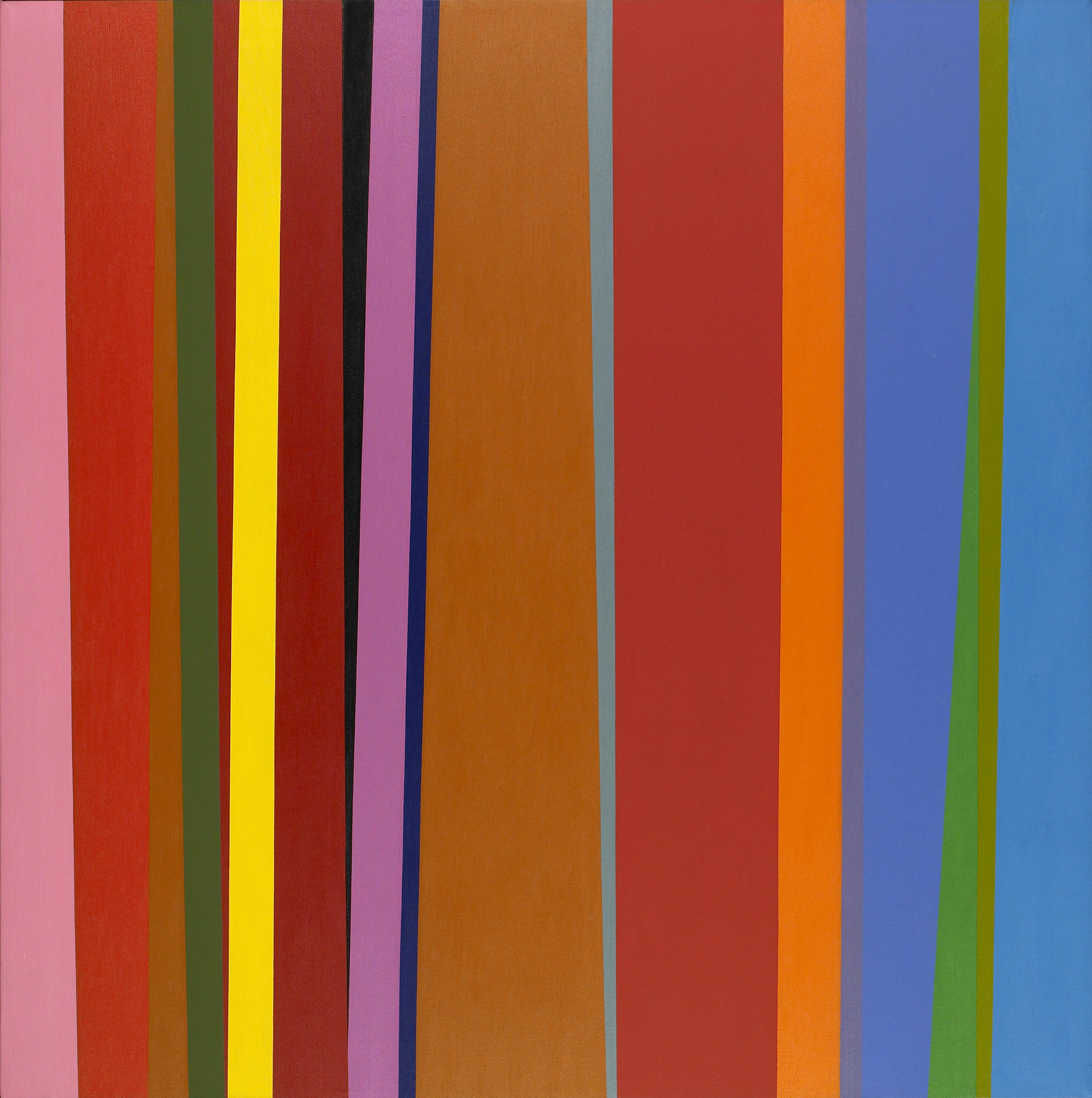 Jay Rosenblum ,  Chrysalis III, c. 1979 , oil on canvas, 50 x 50 inches