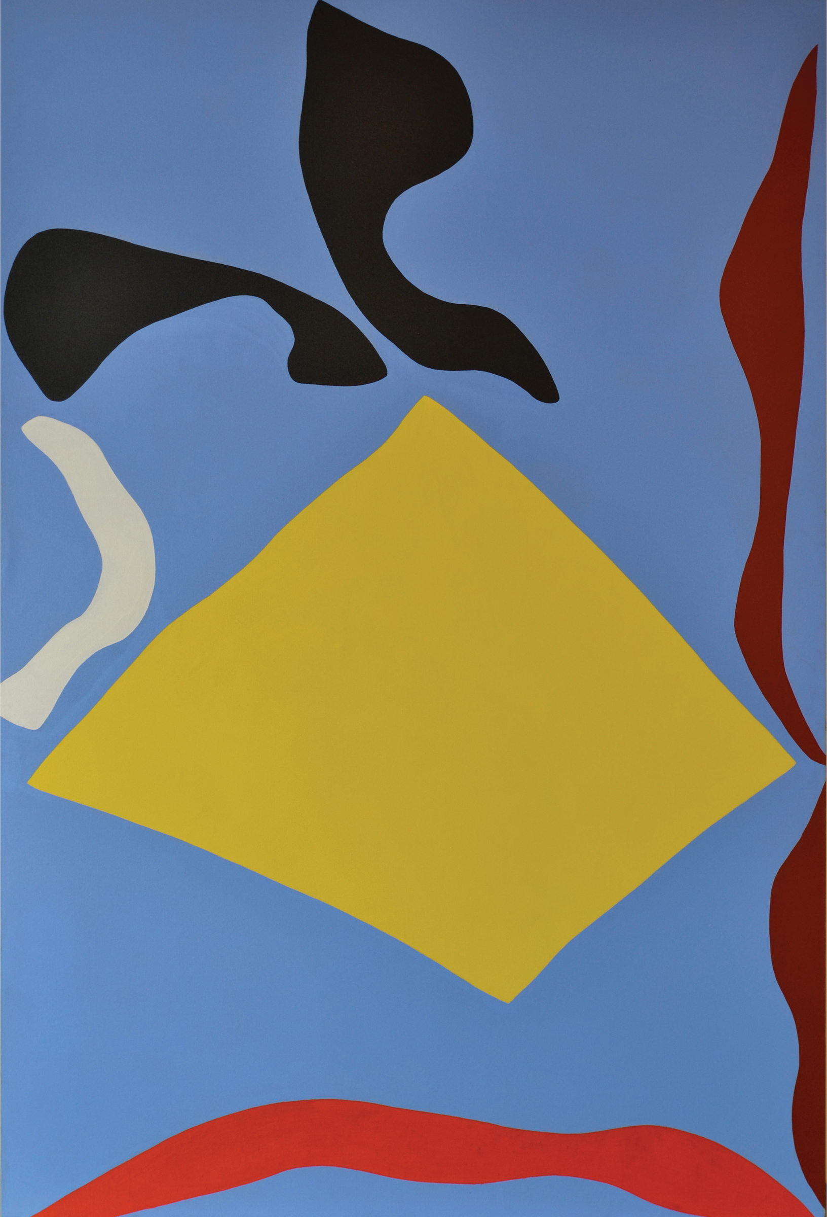 Ray Parker ,  Untitled, 1971 , oil on canvas, 80 x 54 inches