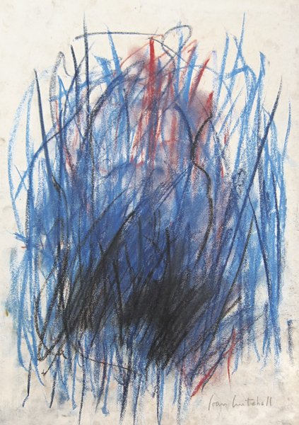 SOLD    Untitled , 1977,  Pastel on paper, 18 1/2 x 13 1/4 inches