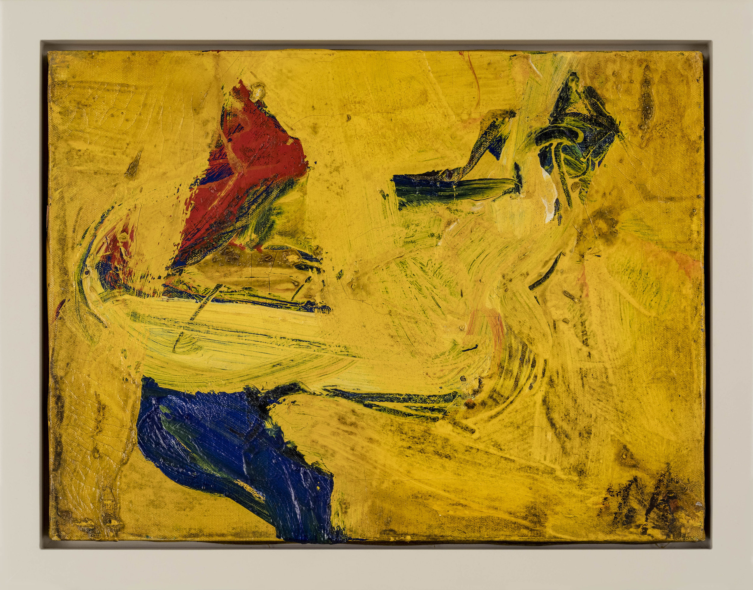 SOLD  Untitled,  1950 , Oil on canvas, 12 x 16 inches