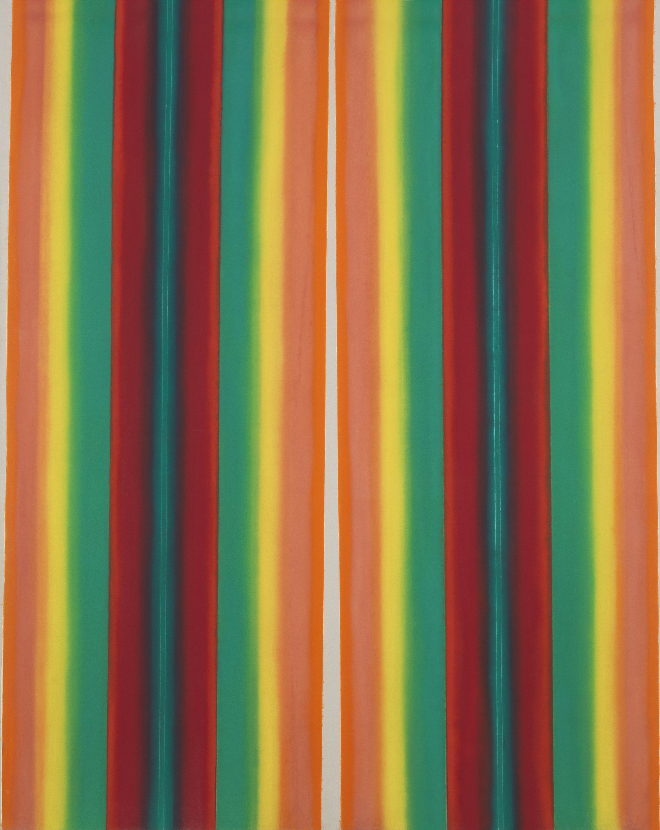 Cathedral #11, 1968  , oil on canvas, 90 x 72 inches