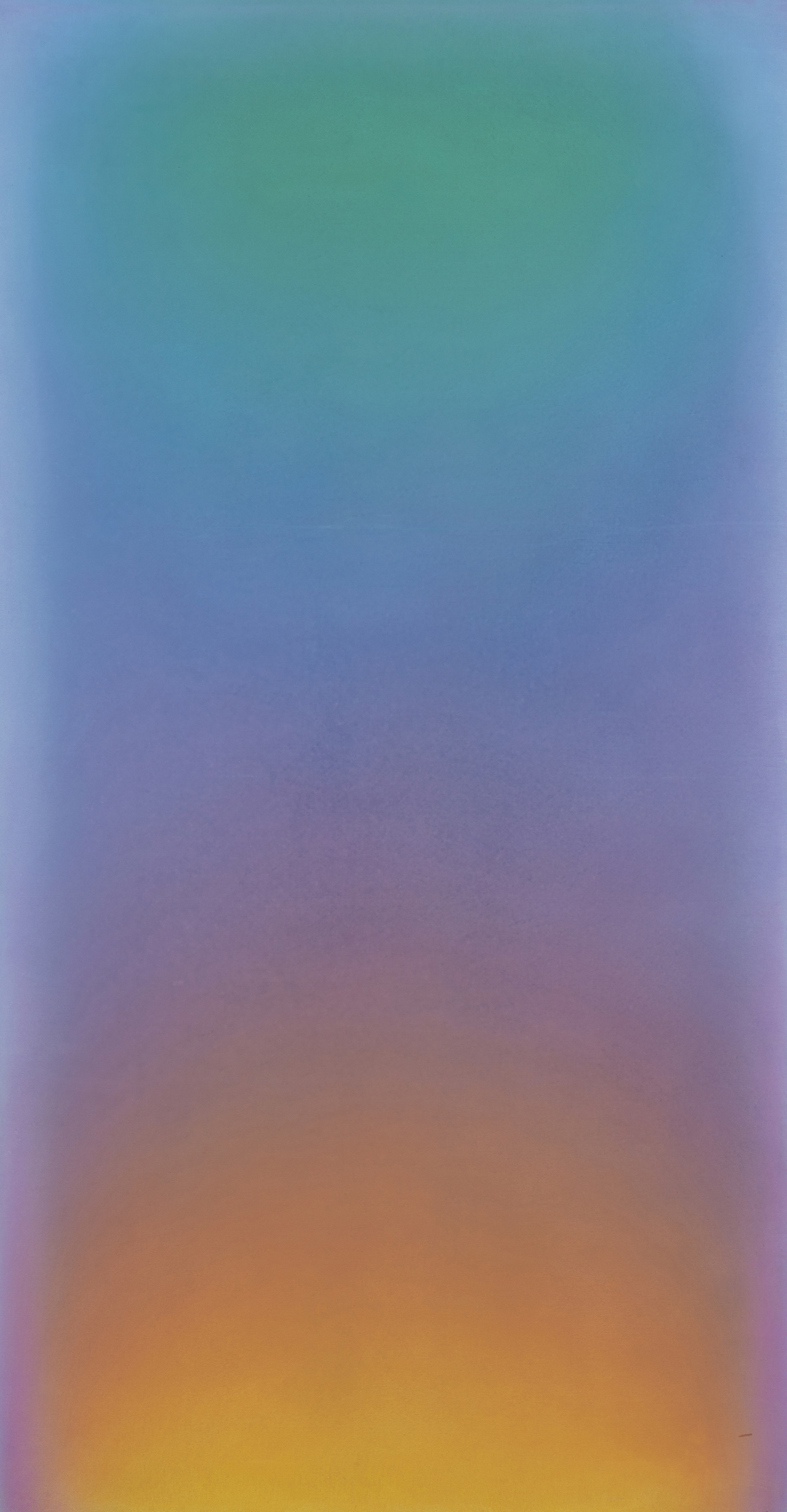 The Pool I, 1976  , acrylic on canvas, 110 x 58 inches