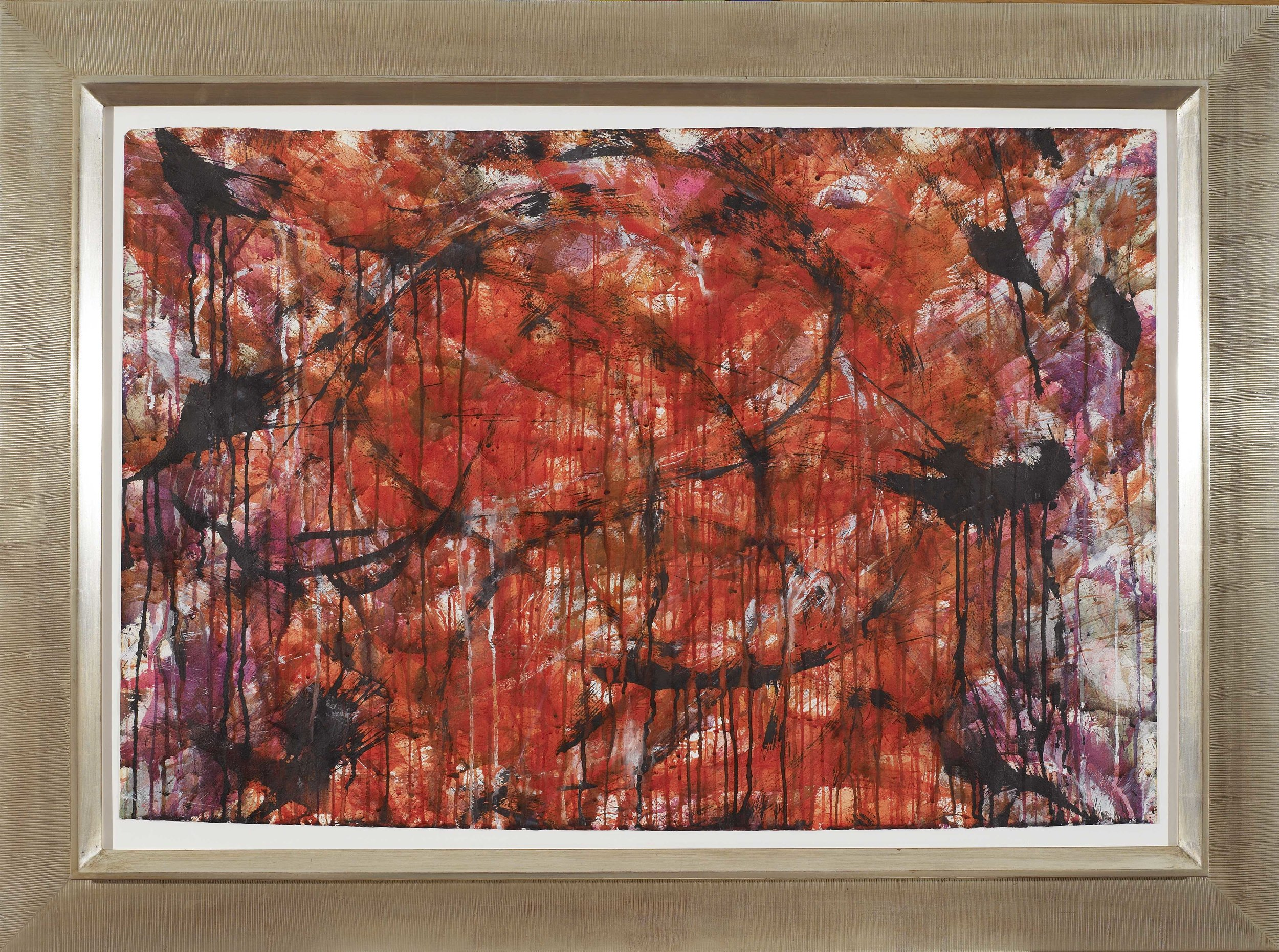 Untitled, 1957,   Watercolor on paper, 1957 29 3/4 x 36 3/4 inches