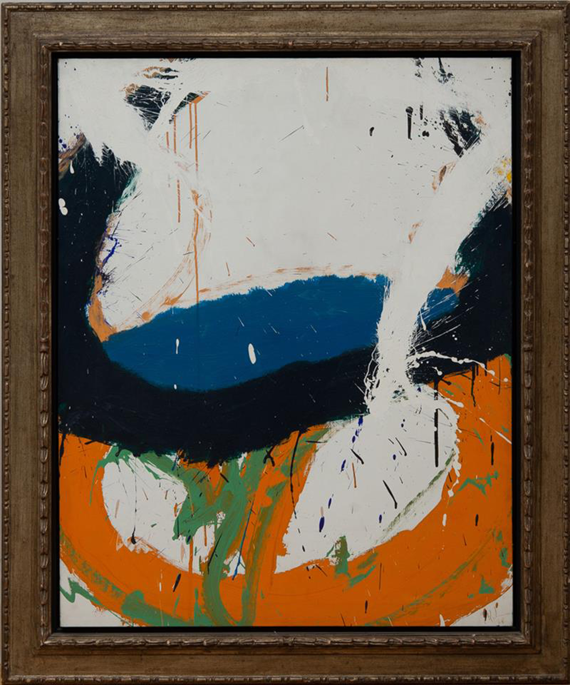 SOLD  Indian Trail   ,  Oil on canvas, 1968 48 x 38 inches