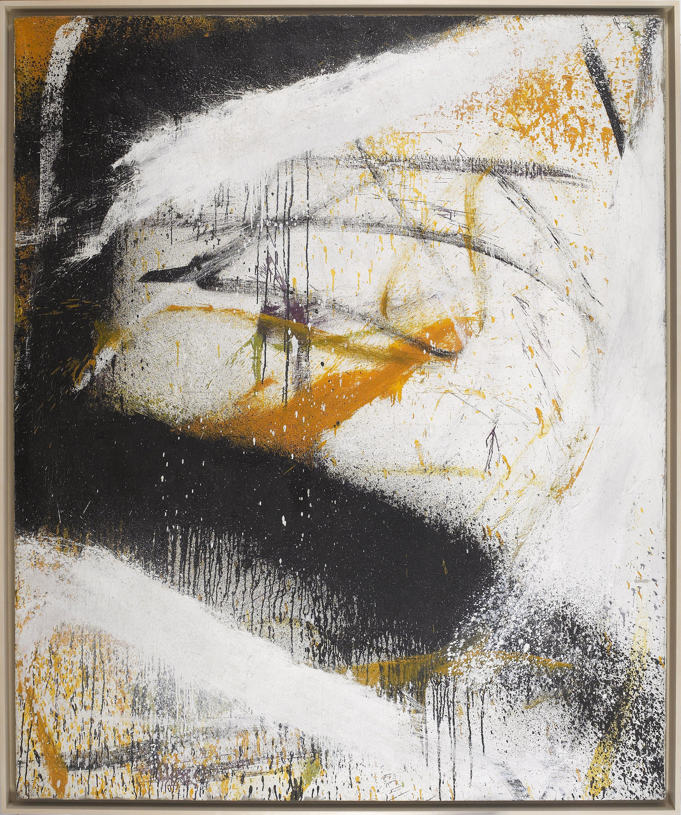 SOLD  World #3, 1961  , oil on canvas, 72 x 60 inches