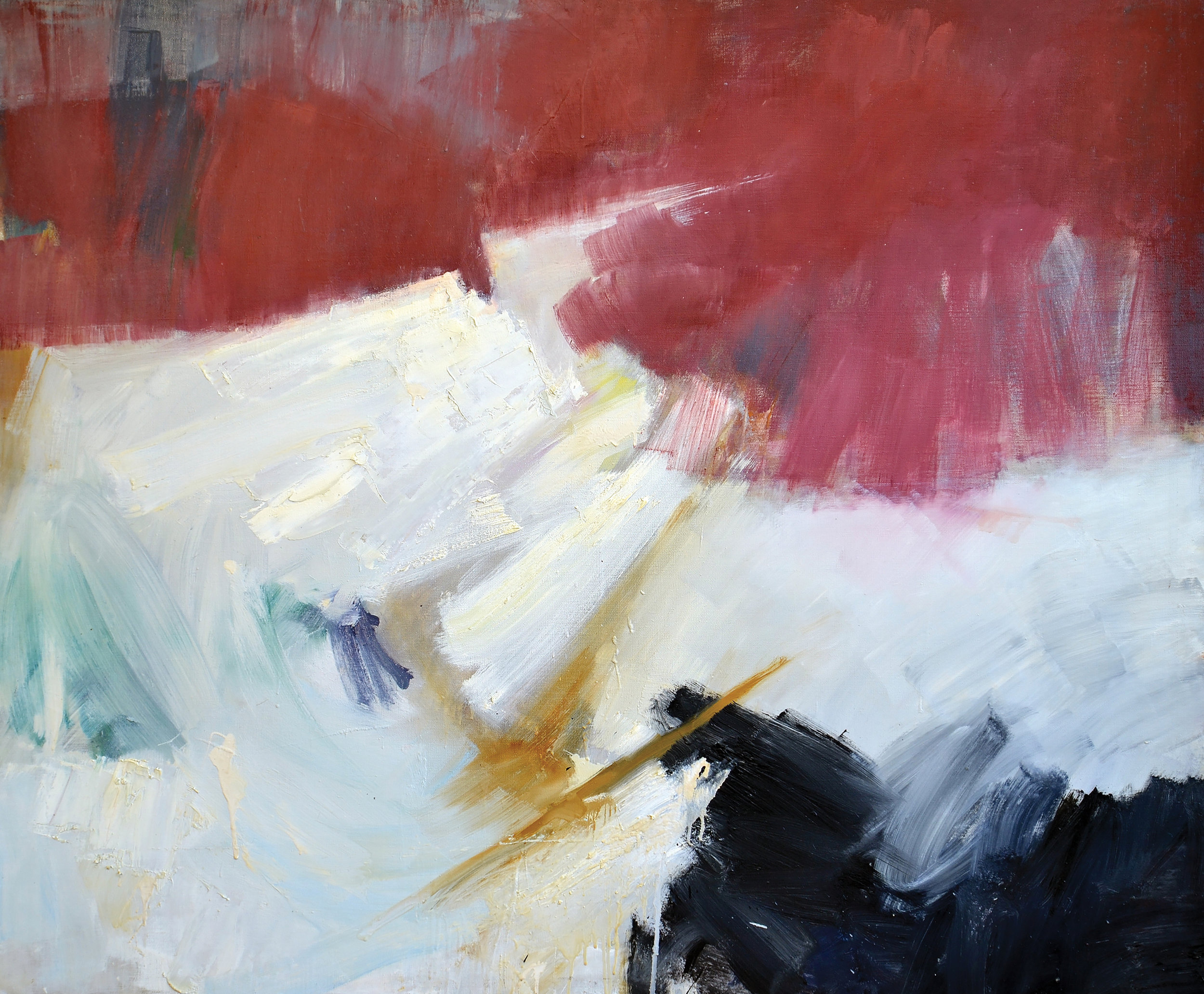 Stowe, 1960  , oil on canvas, 50 x 60 inches