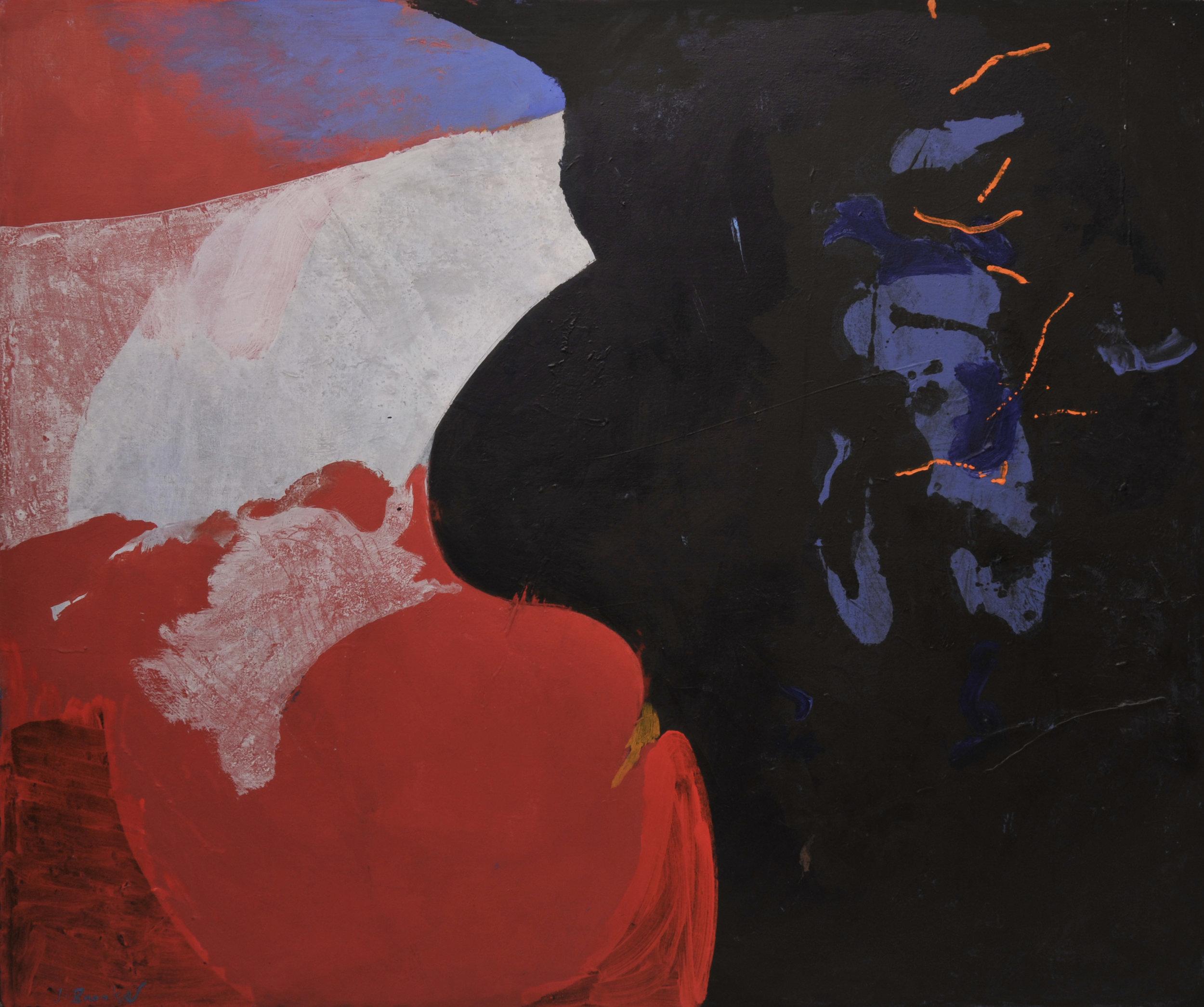 Reneel, 1967  , acrylic on canvas, 60 x 72 inches