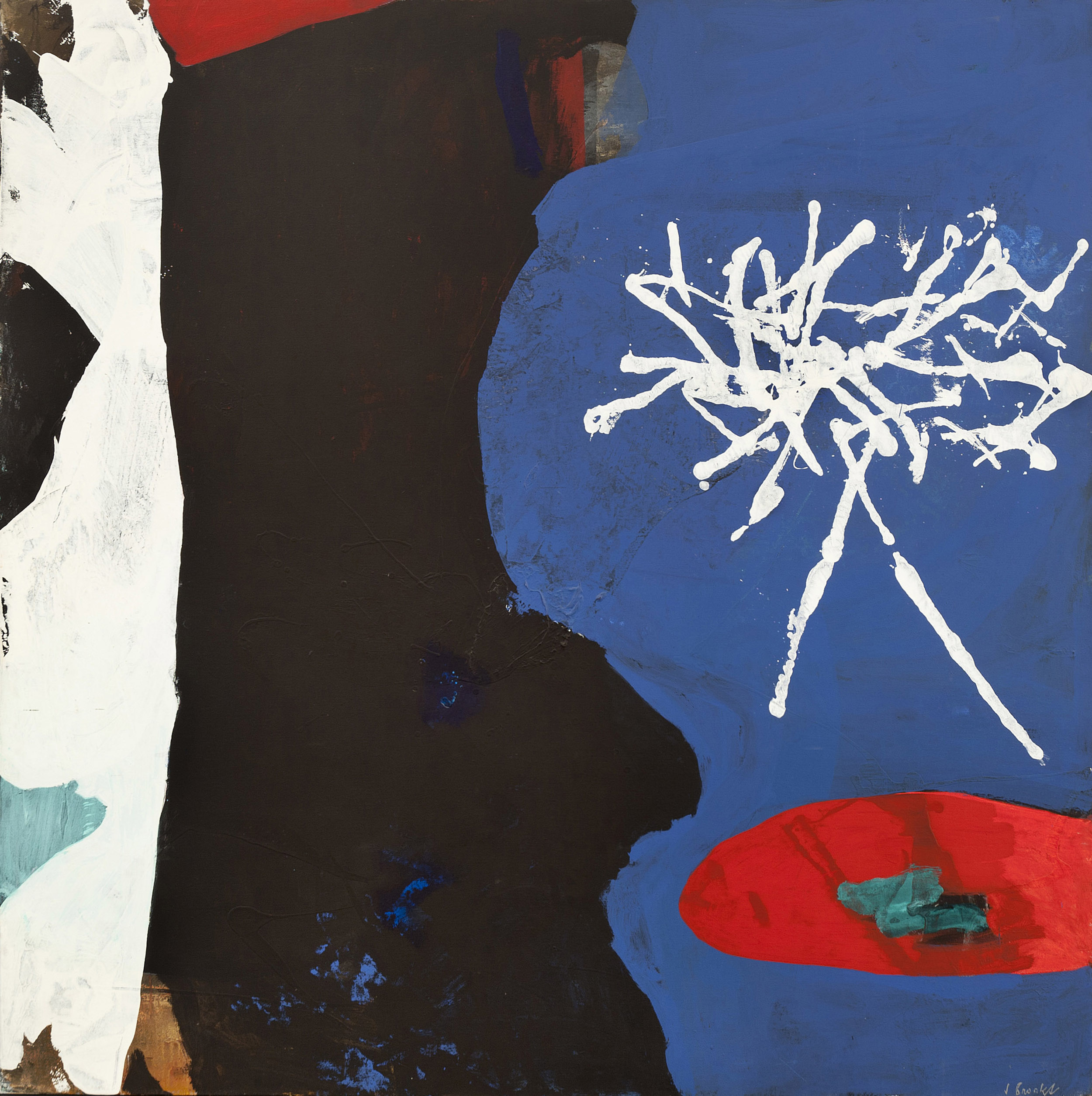 SOLD  Gudrun, 1971  , oil on canvas, 72 x 72 inches
