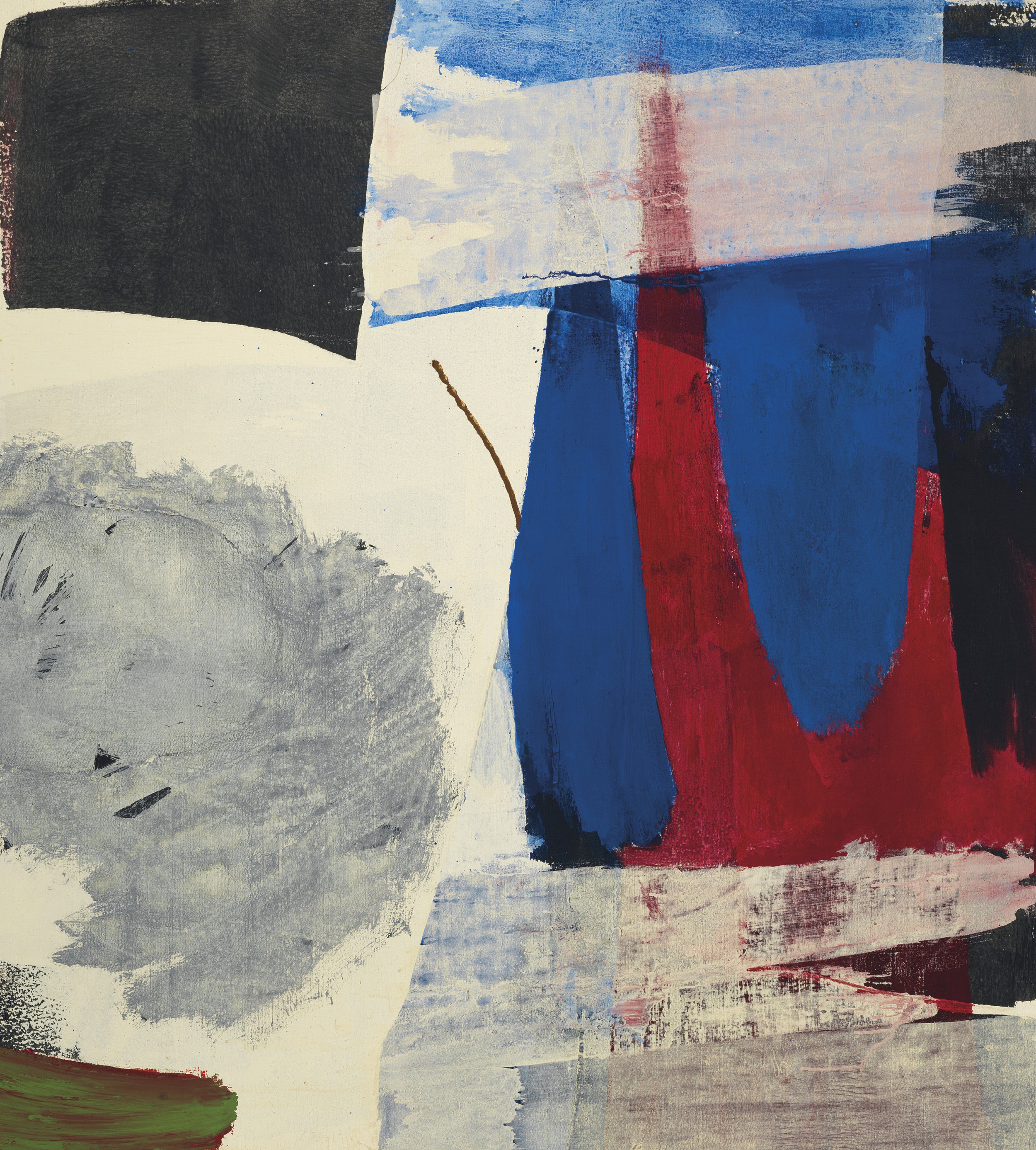 SOLD  Ignio   ,  Oil on canvas, 1963, 55 x 50 inches
