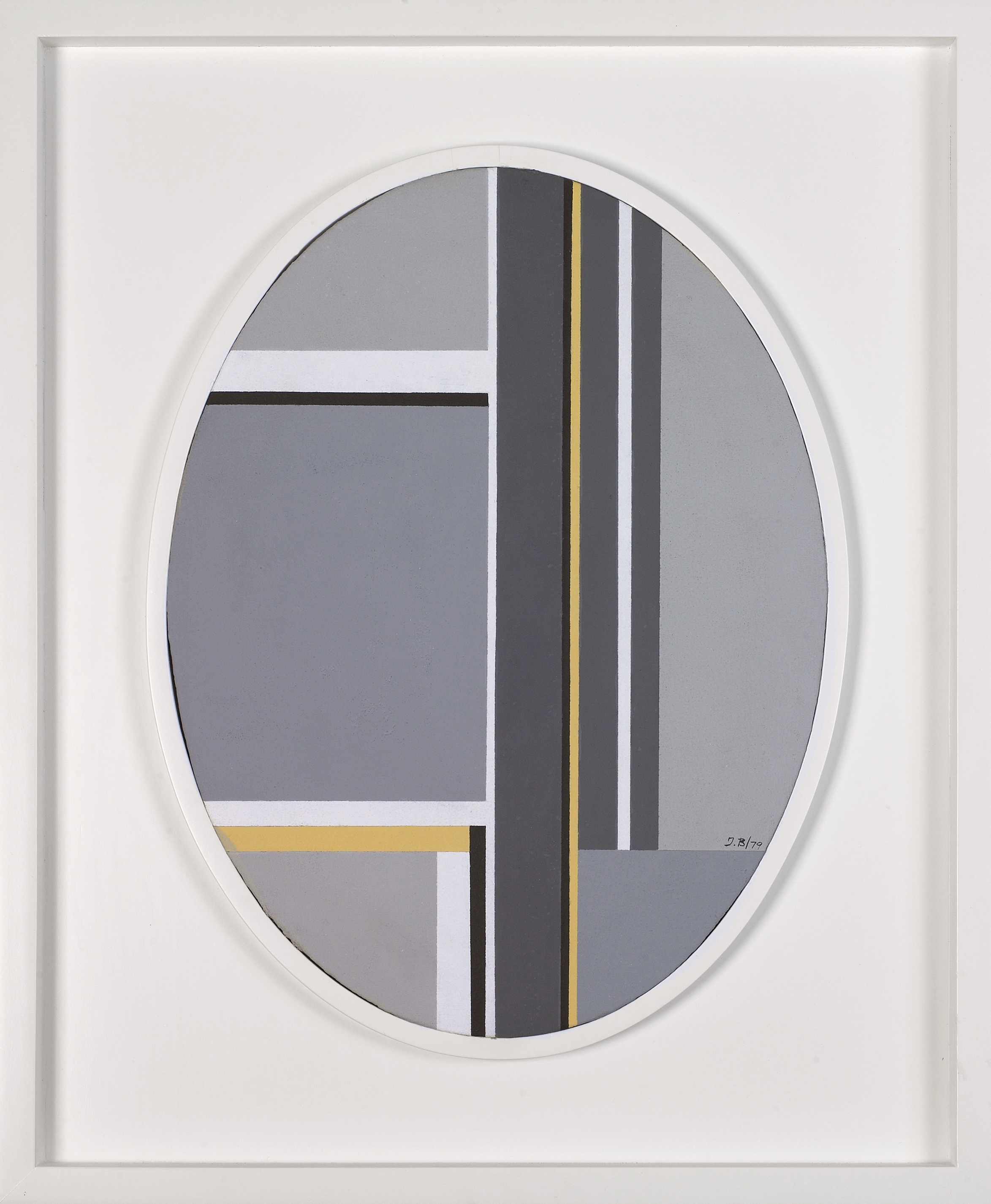 Untitled,   Oil on canvas, 1979, 15 3/4 x 11 3/4 inches