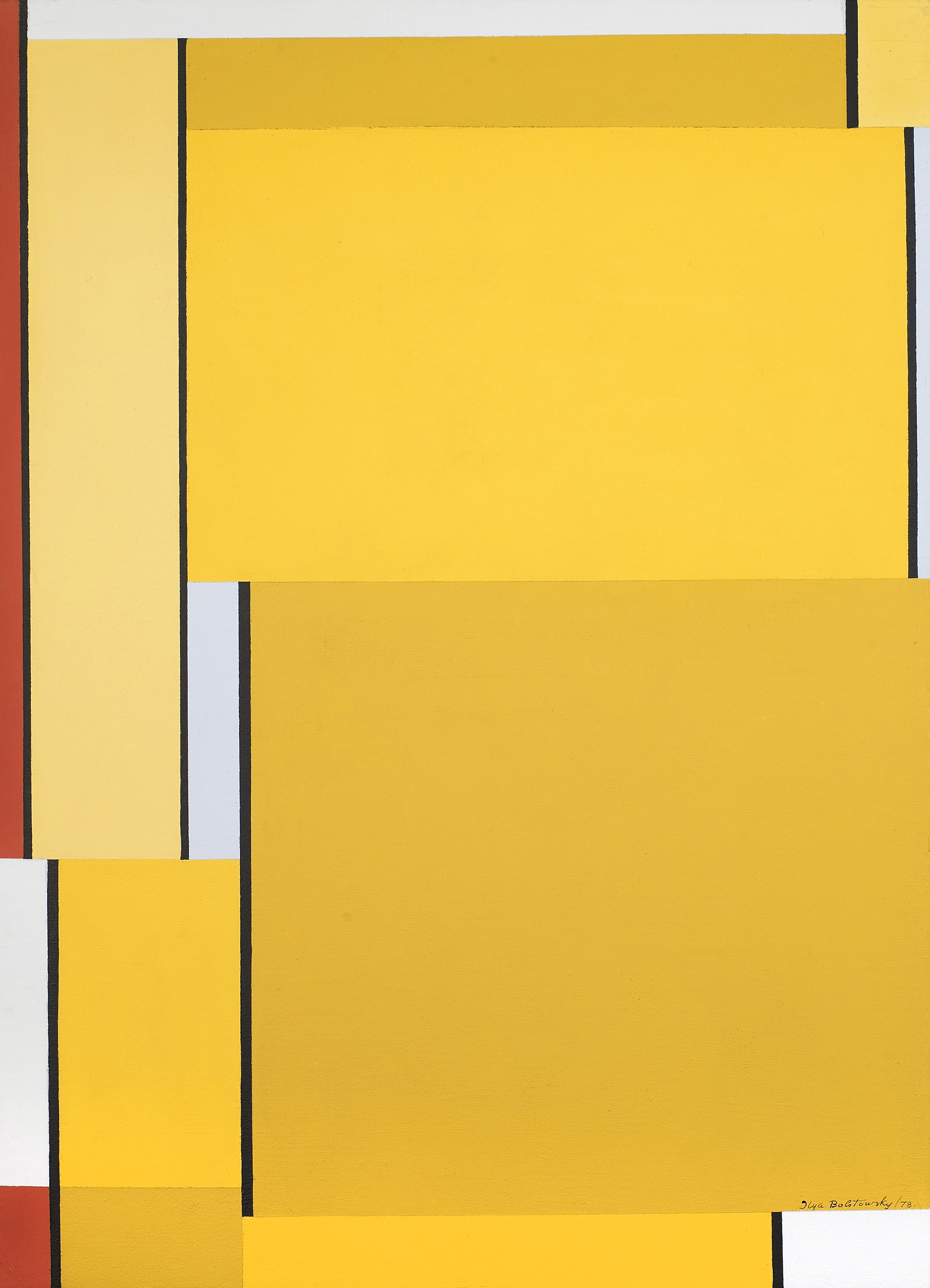 SOLD  Untitled,   Oil on canvas, 1978, 27 1/2 x 19 3/4 inches