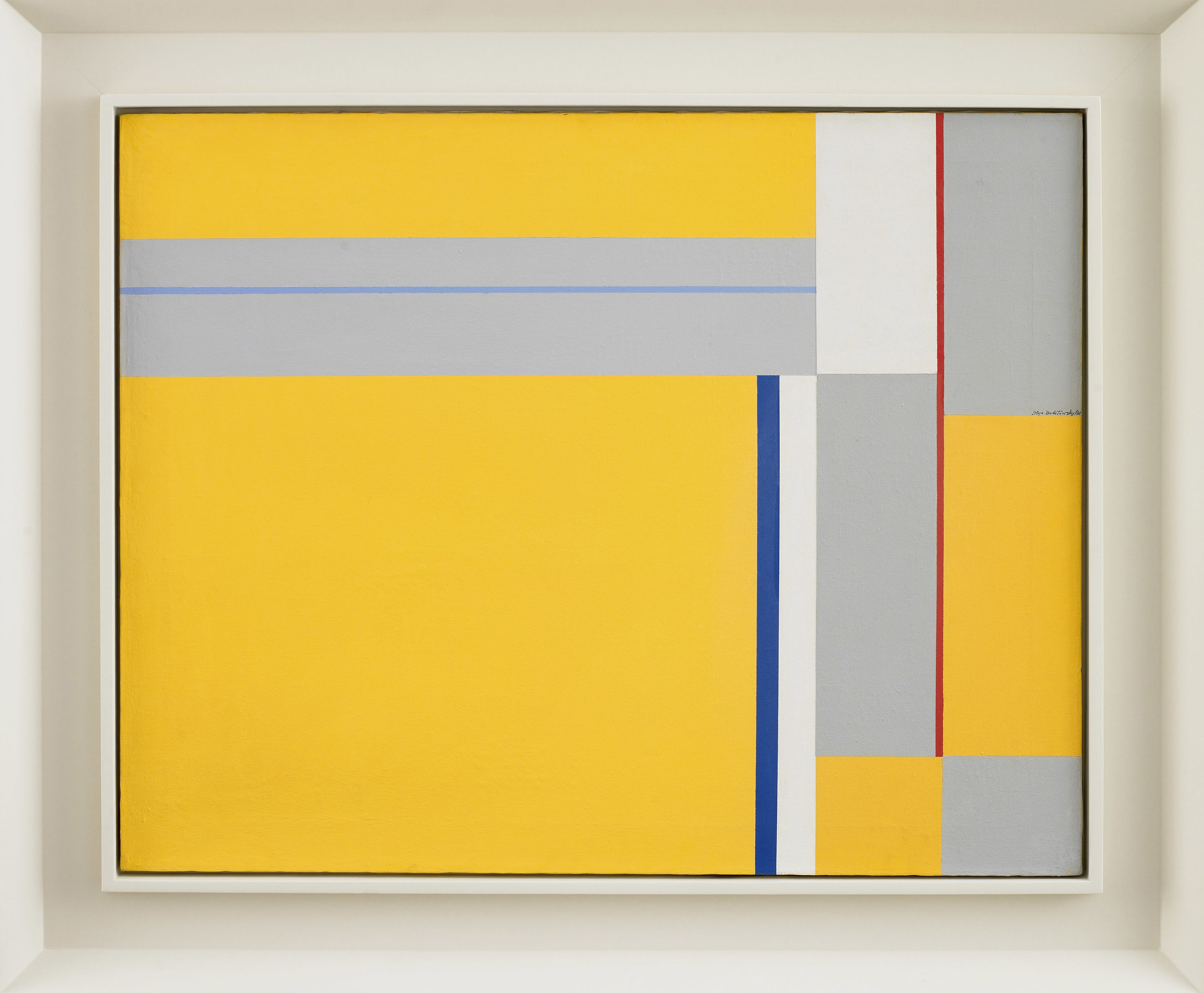 SOLD  Untitled,   1981, oil on canvas, 24 x 30 inches