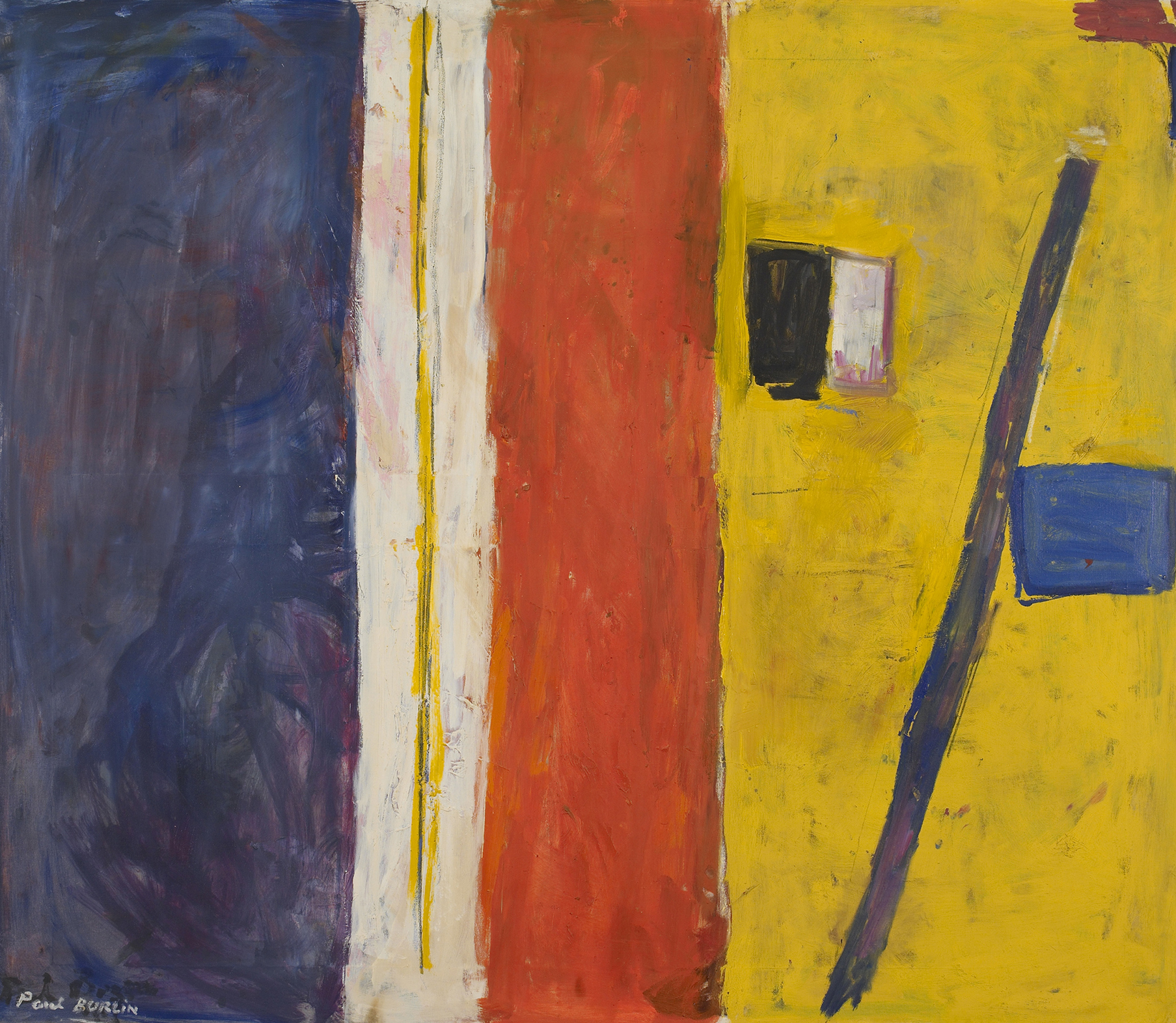 Bitter Orange, 1967-68  , oil on canvas, 52 x 60 inches