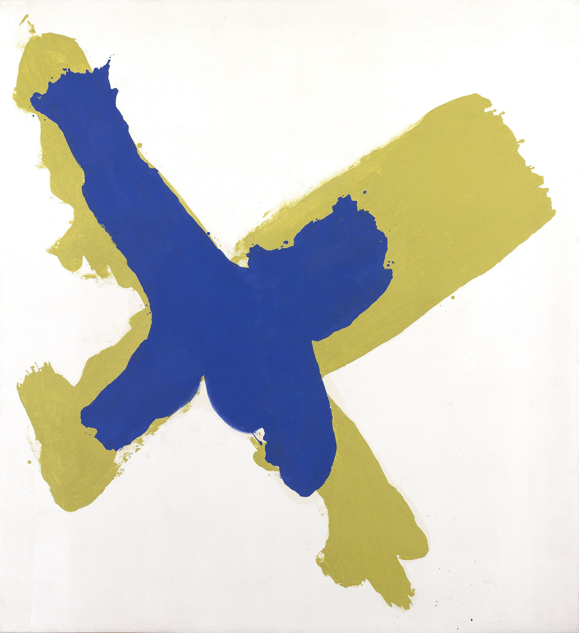 Waycross,   Oil on canvas, 1962, 72 7/8 x 65 7/8 inches