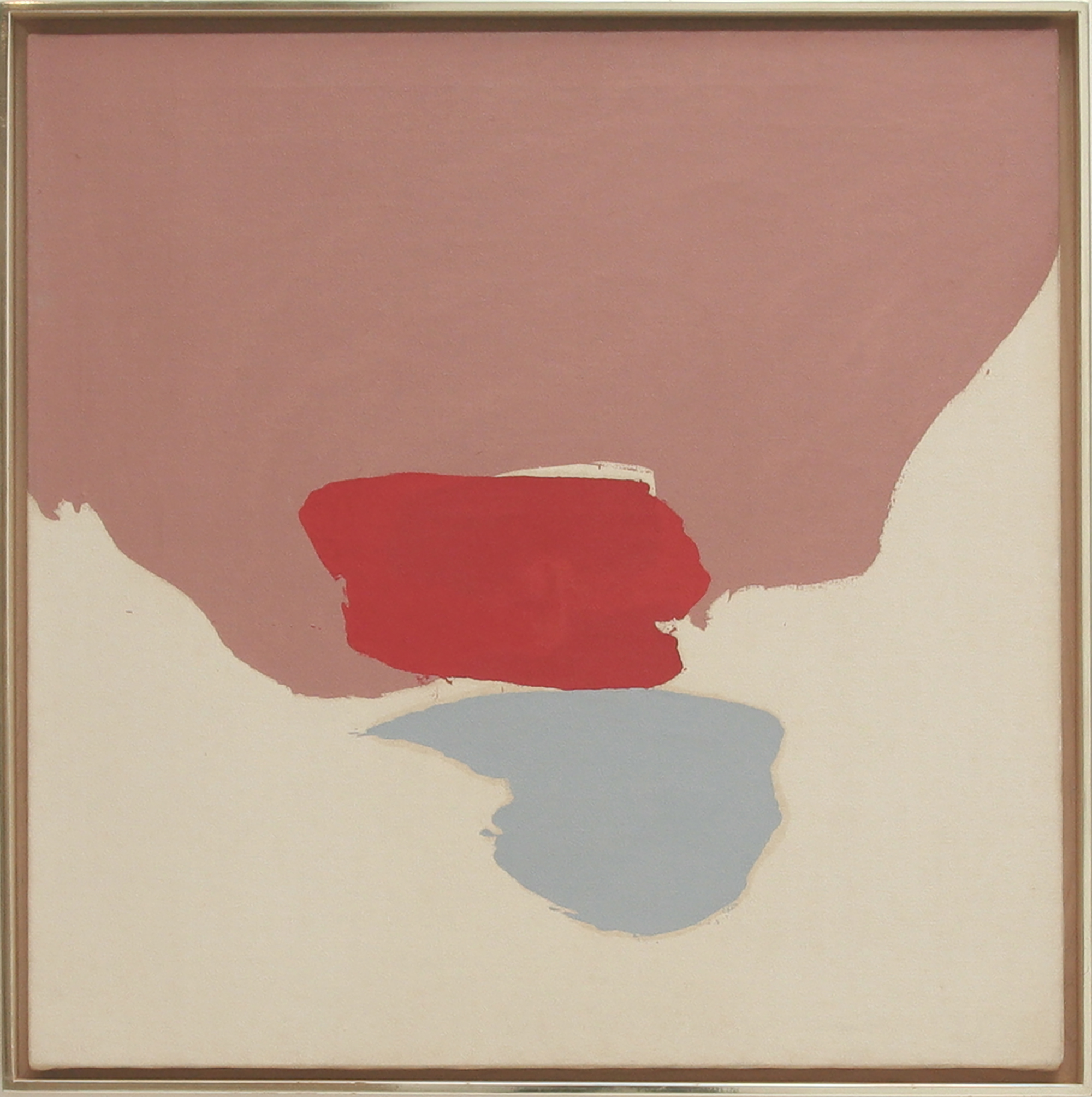 SOLD   Untitled, 1963 , acrylic on canvas, 29 x 29 1/2 inches