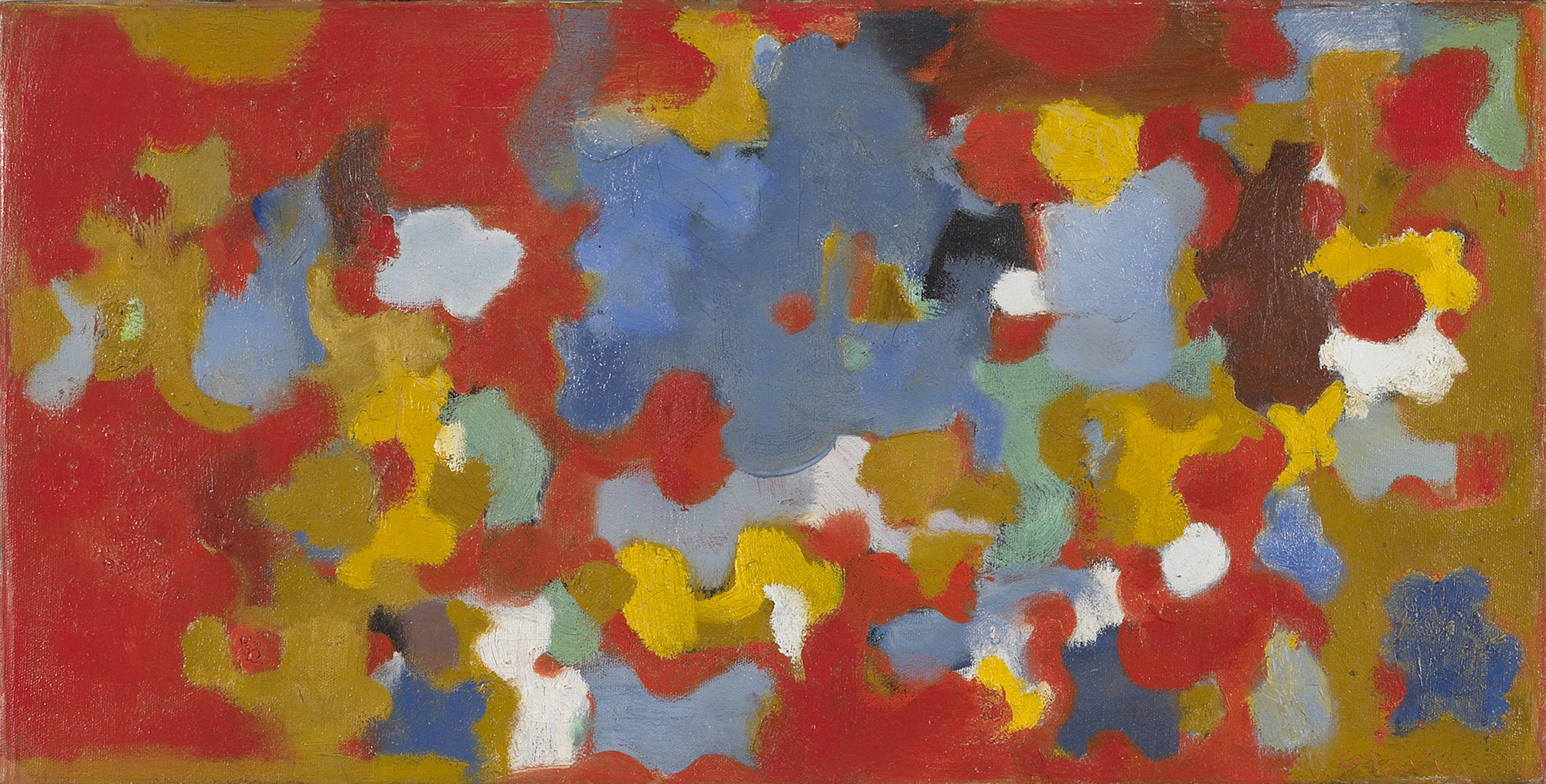 Untitled, 1953  , oil on canvas, 12 x 24 inches