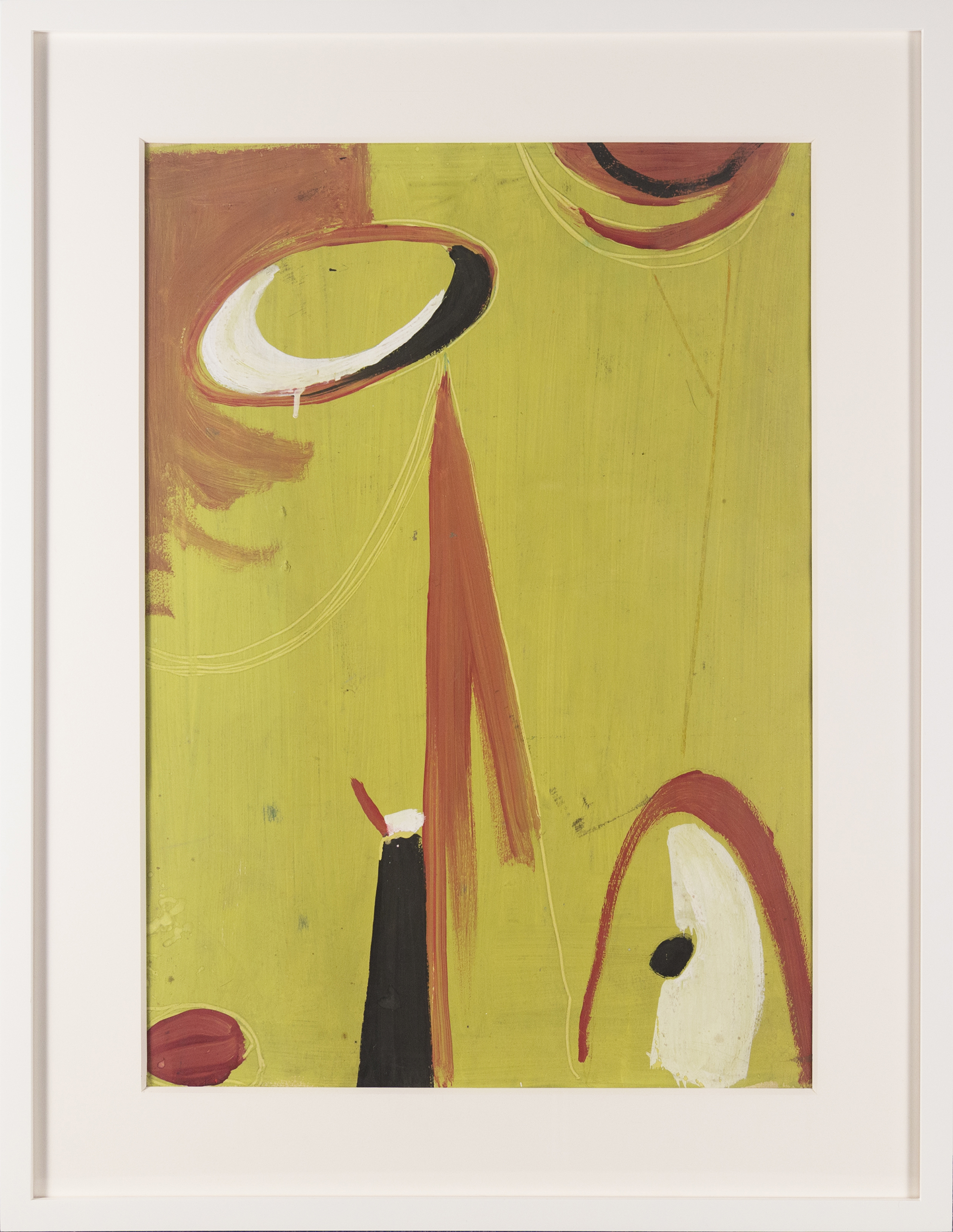 SOLD  Untitled #70,   c. 1947, gouache on paper, 21 x 15 inches