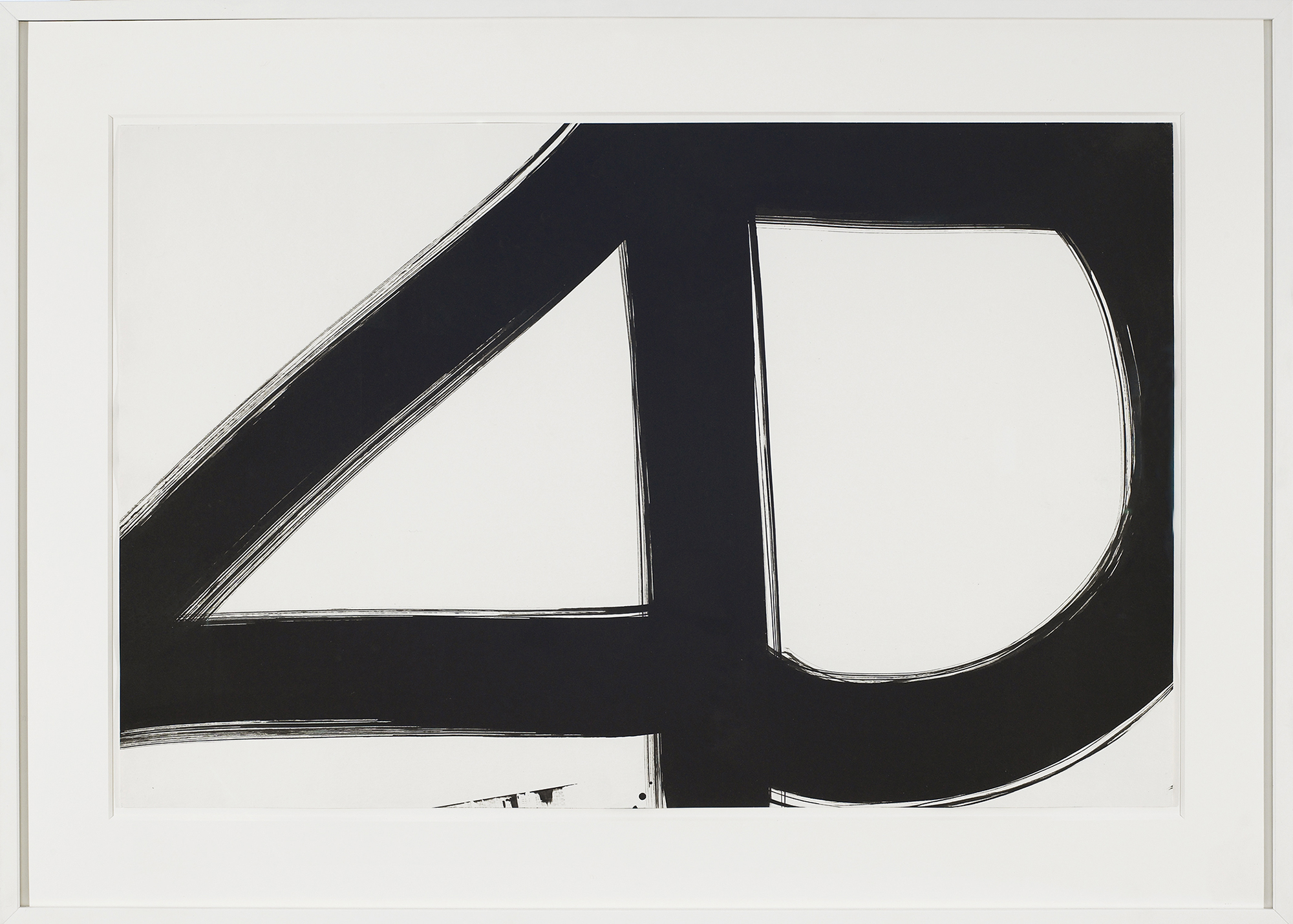 SOLD  Untitled, No. 67-34  , 1967, ink on paper, 22 1/2 x 35 inches