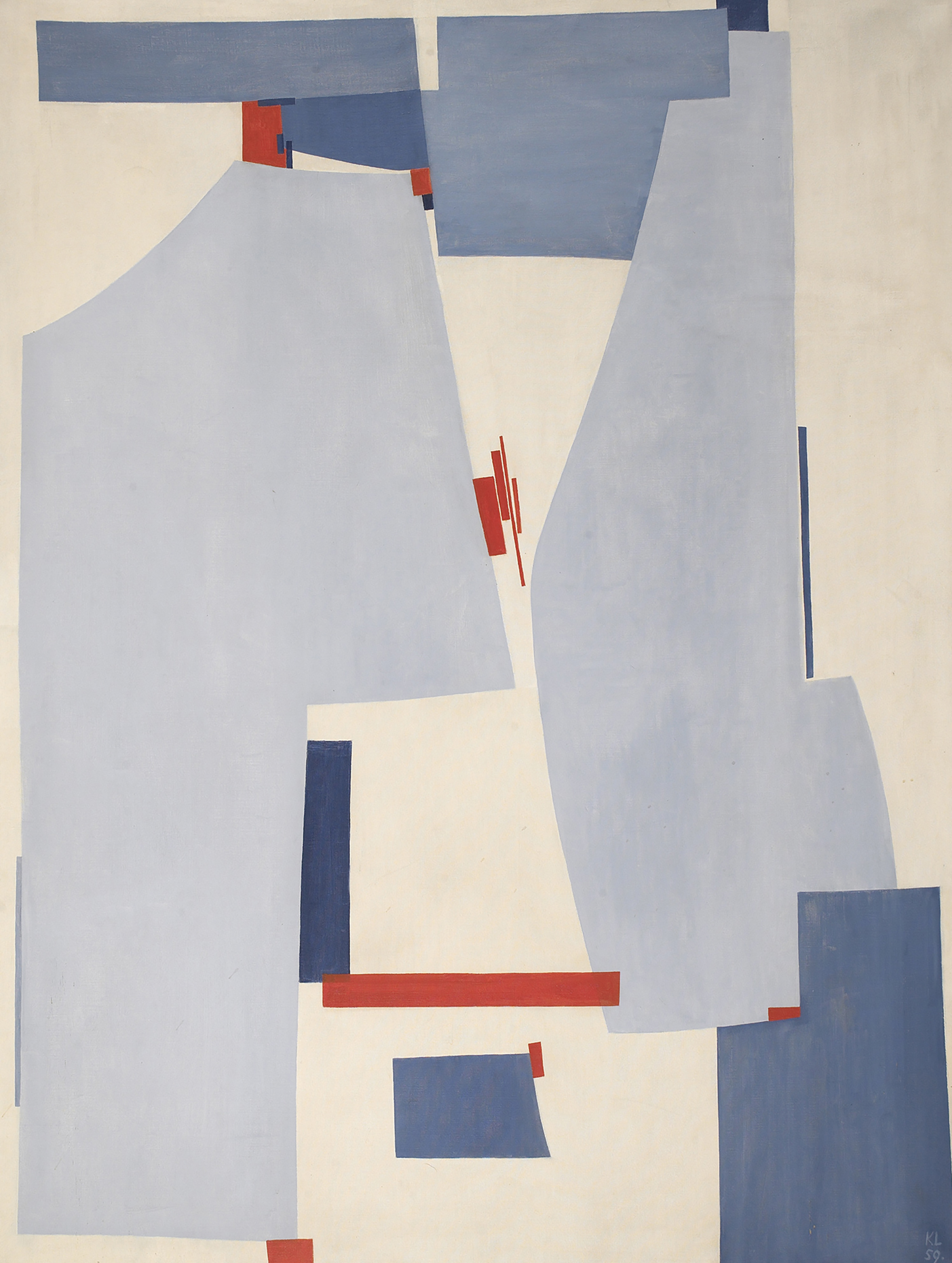 No. 161, 1959  , oil on canvas, 46 x 35 inches