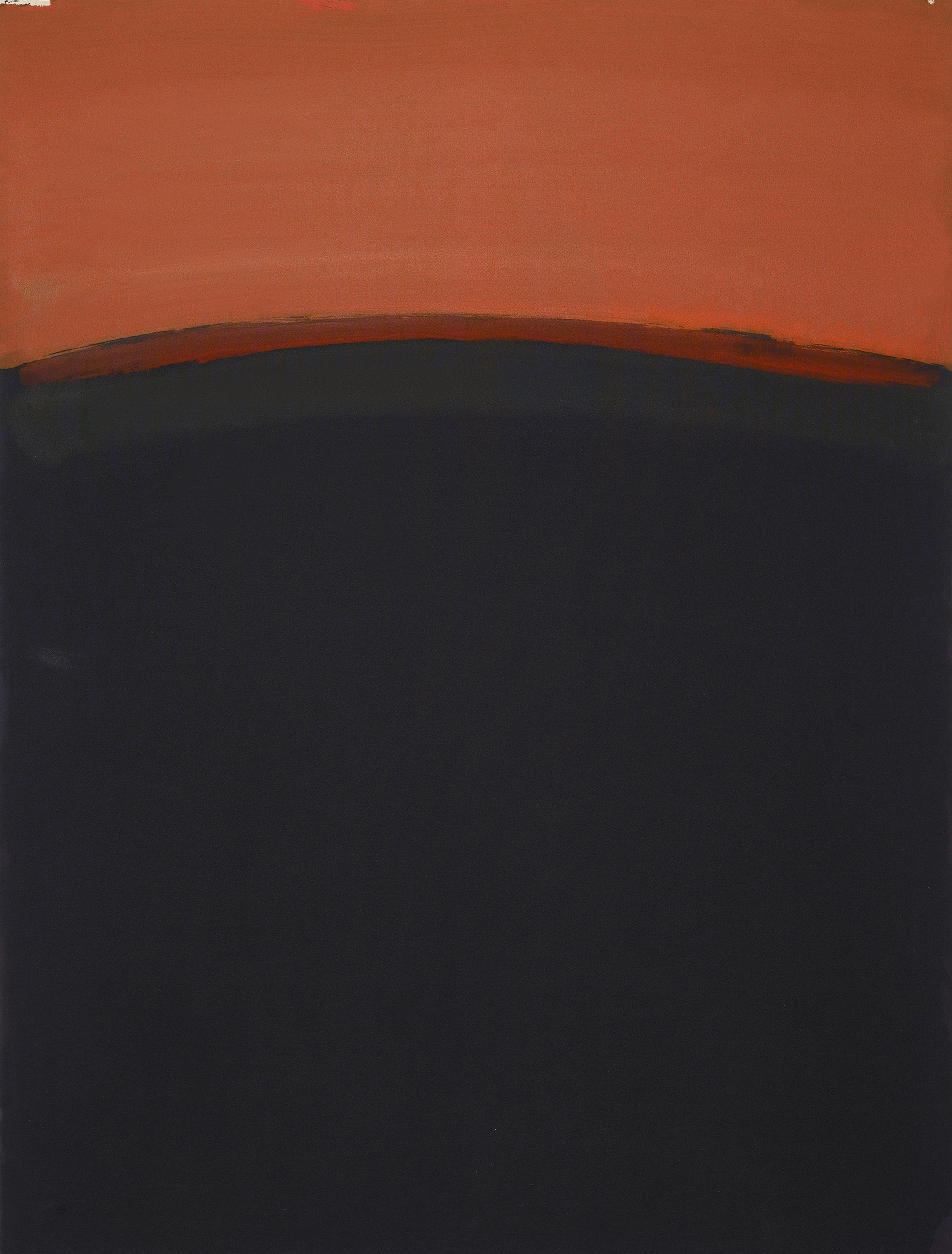 Orb XIV  , 1967, Oil on canvas, 60 x 45 inches