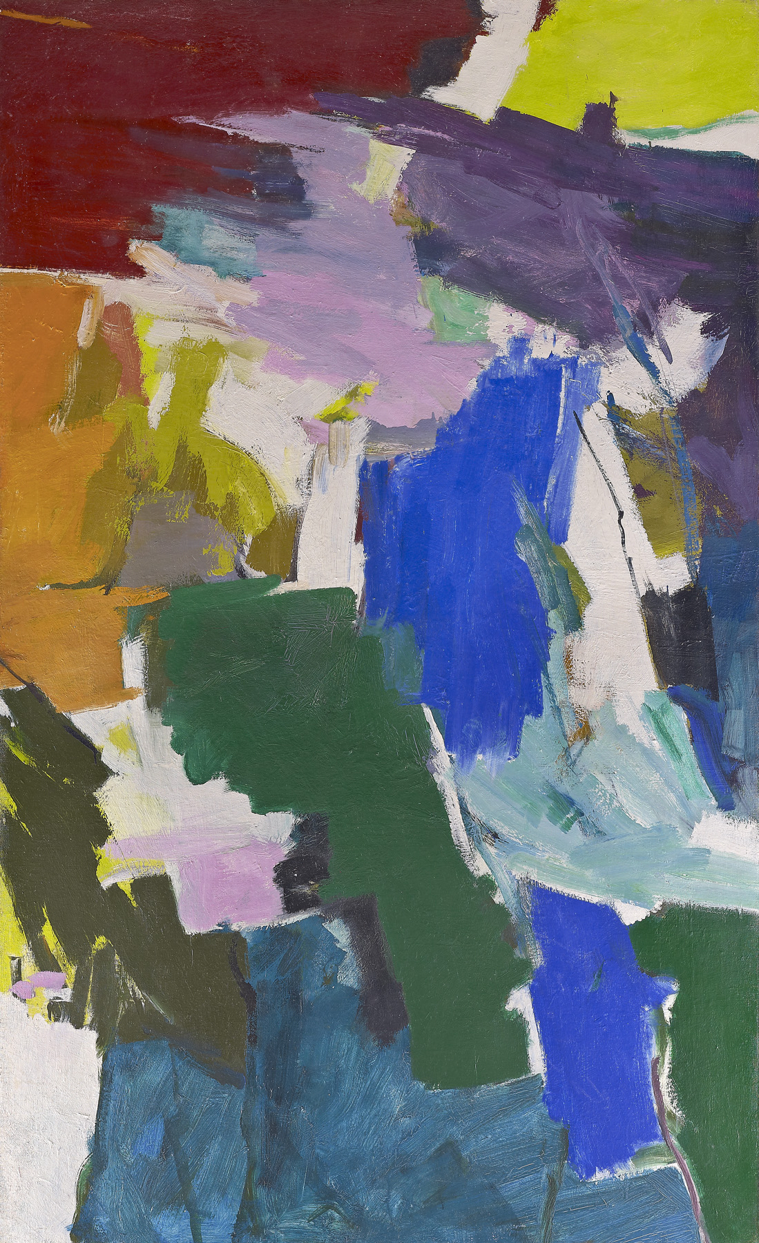 62-2 ,   Oil on canvas, 1962, 77 x 47 1/2 inches