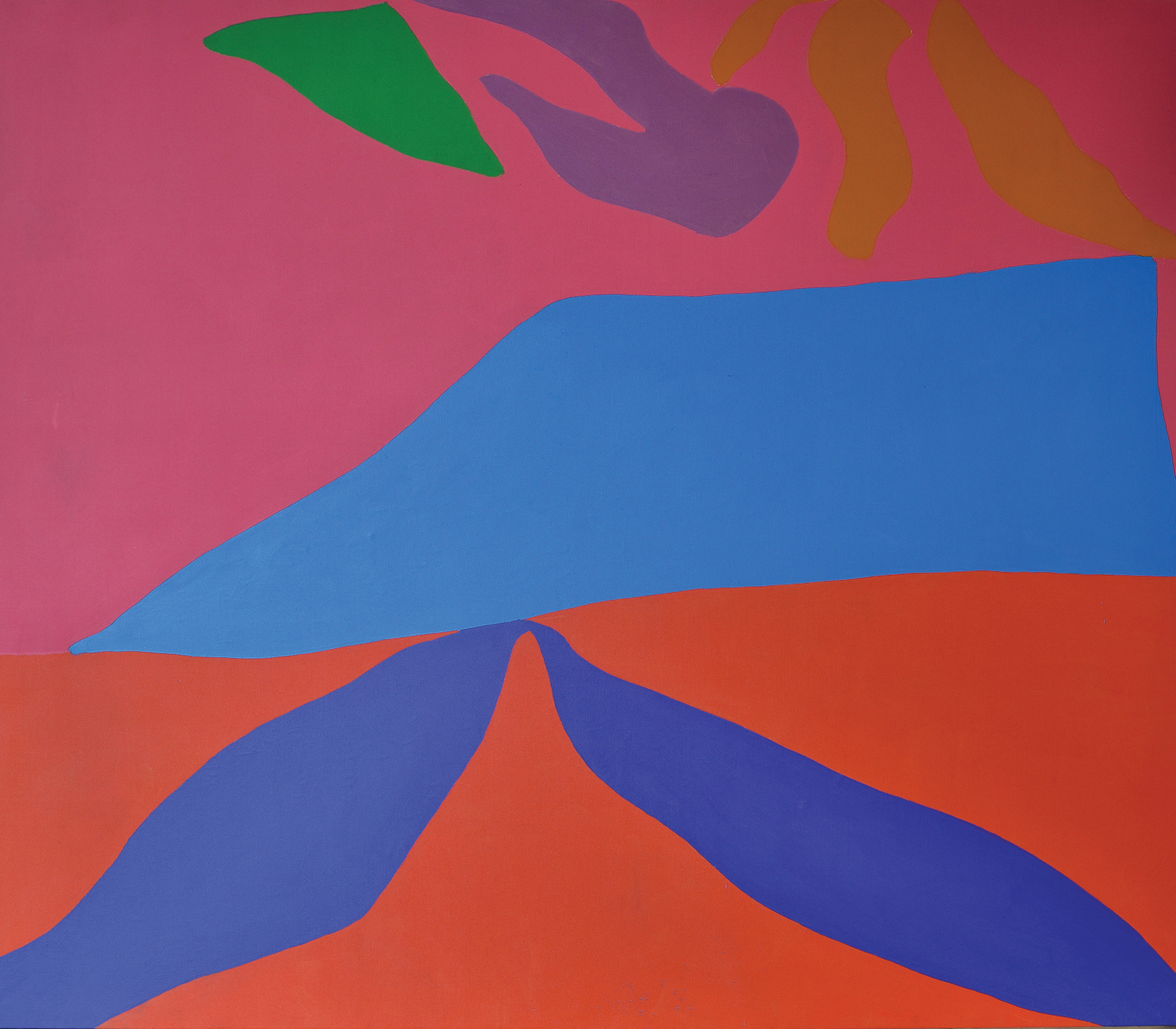 Untitled, 1967  , oil on canvas, 88 x 96 inches