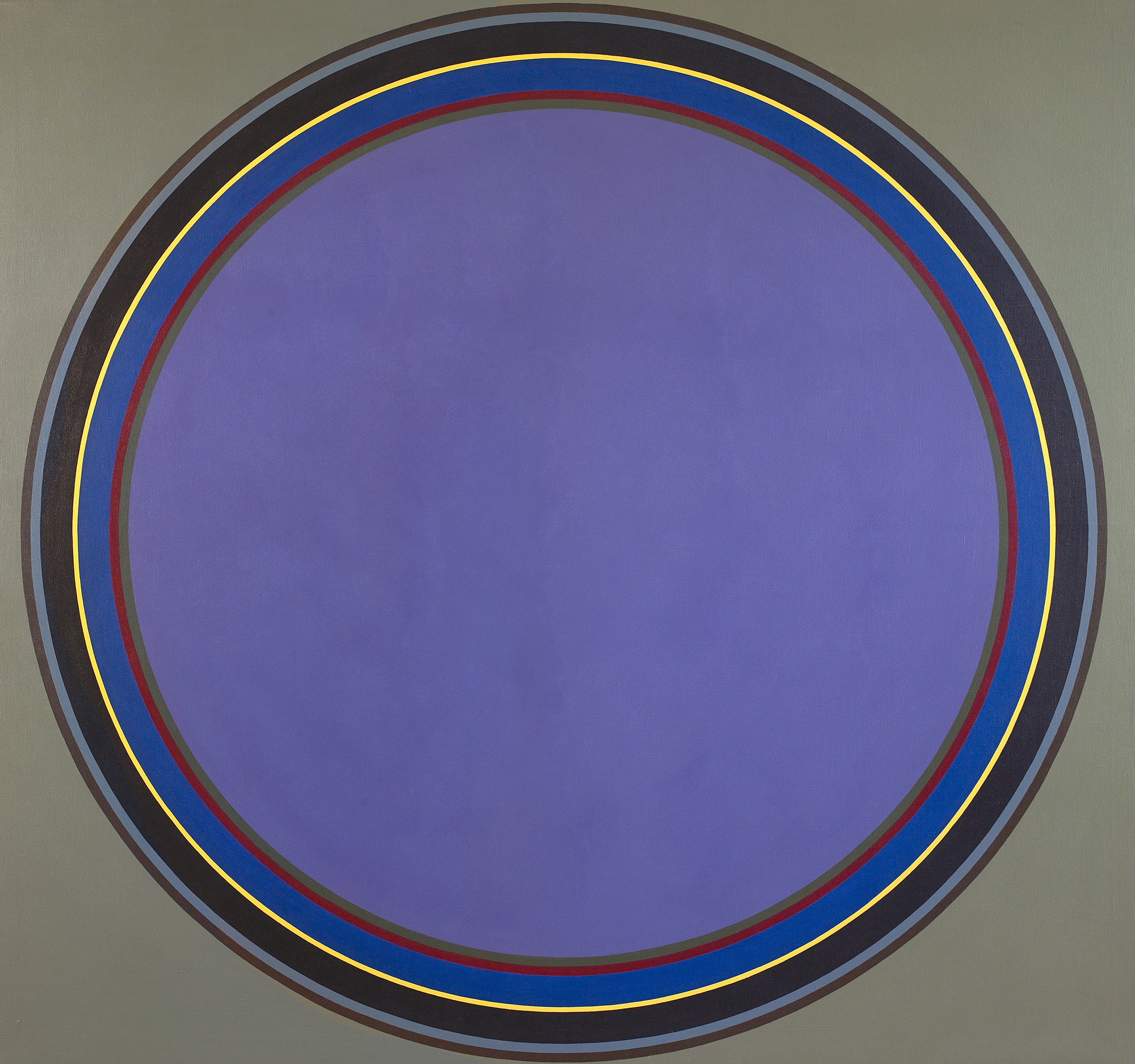 Disc #18 ,   1970  , Acrylic on canvas, 80 x 76 inches