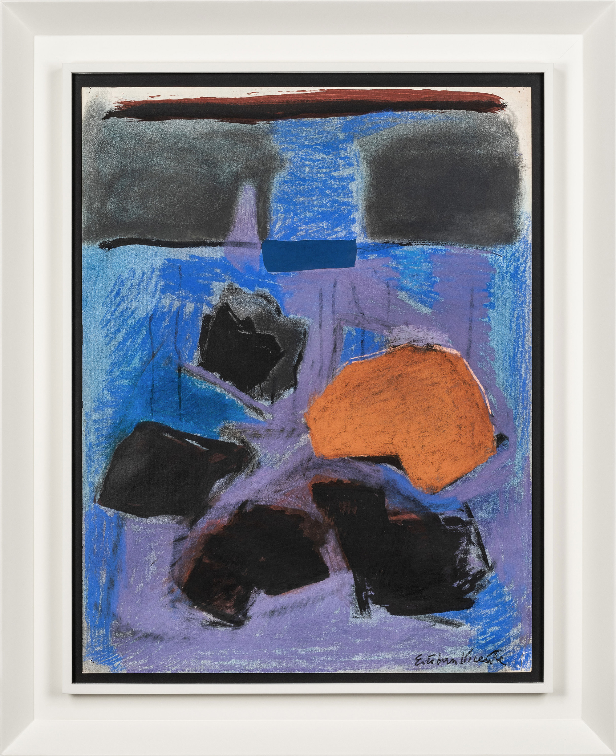 SOLD  Untitled (D80-13)  , Pastel and charcoal on paper, 1980, 25 1/2 x 19 1/2 inches